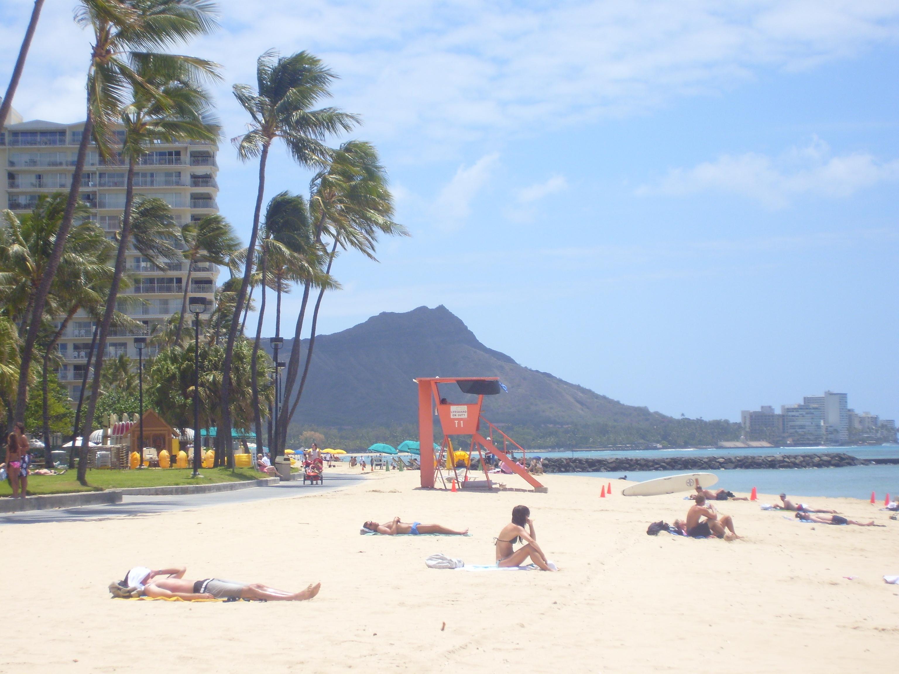 Diamond Head Beach Hotel  Kalakaua Ave Honolulu Hi