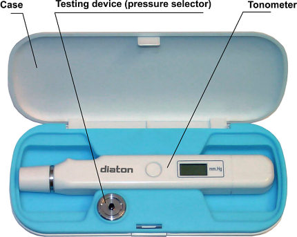 Diaton tonometer - Iop through Eyelid