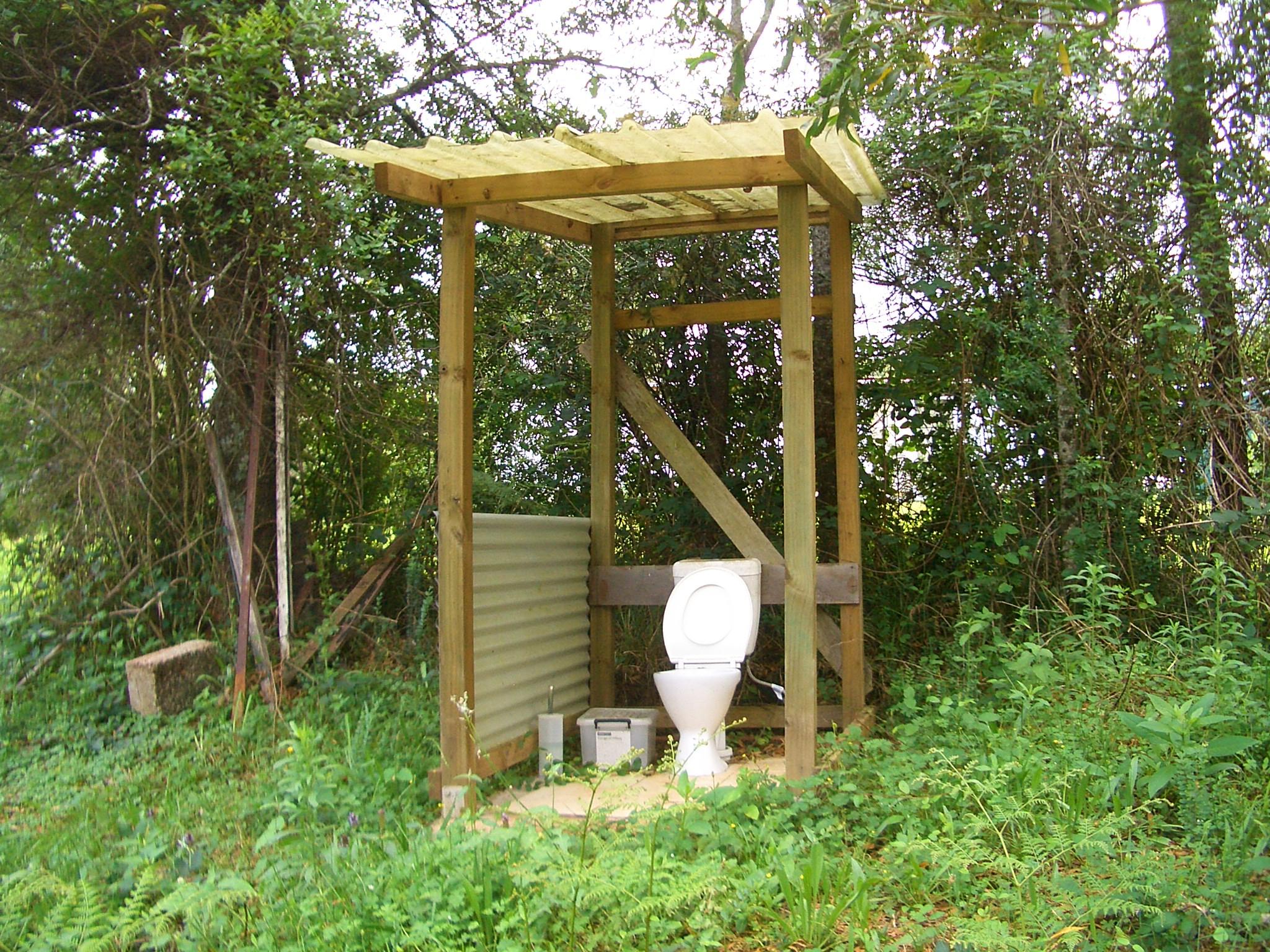 Штраф за дачный туалет