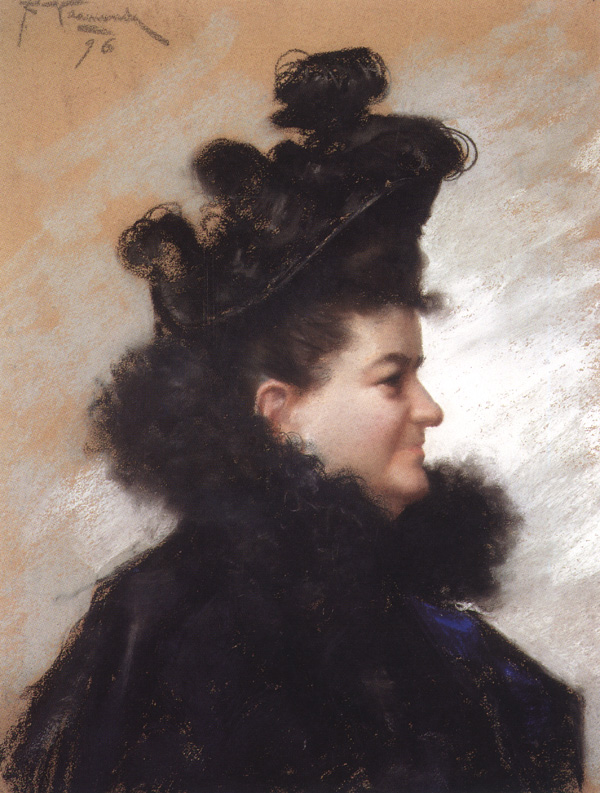Portrait by {{ill|Joaquín Vaamonde Cornide|es}} (1896)