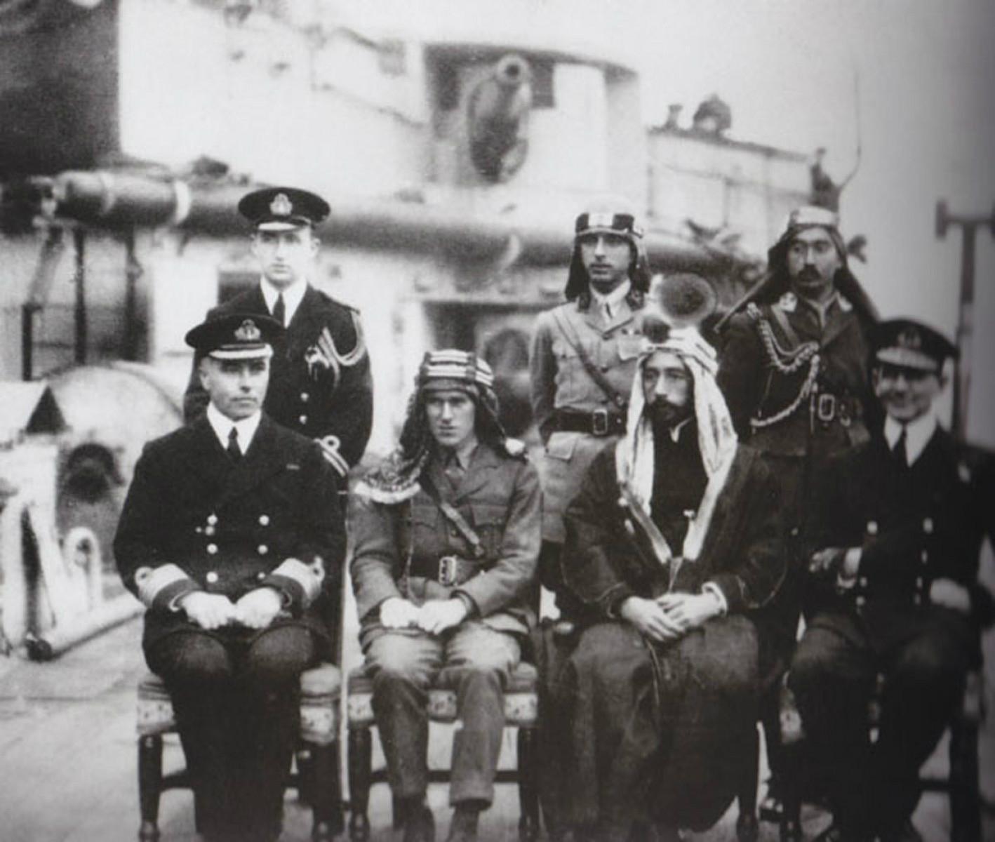T.E. Lawrence & Emir Faisal