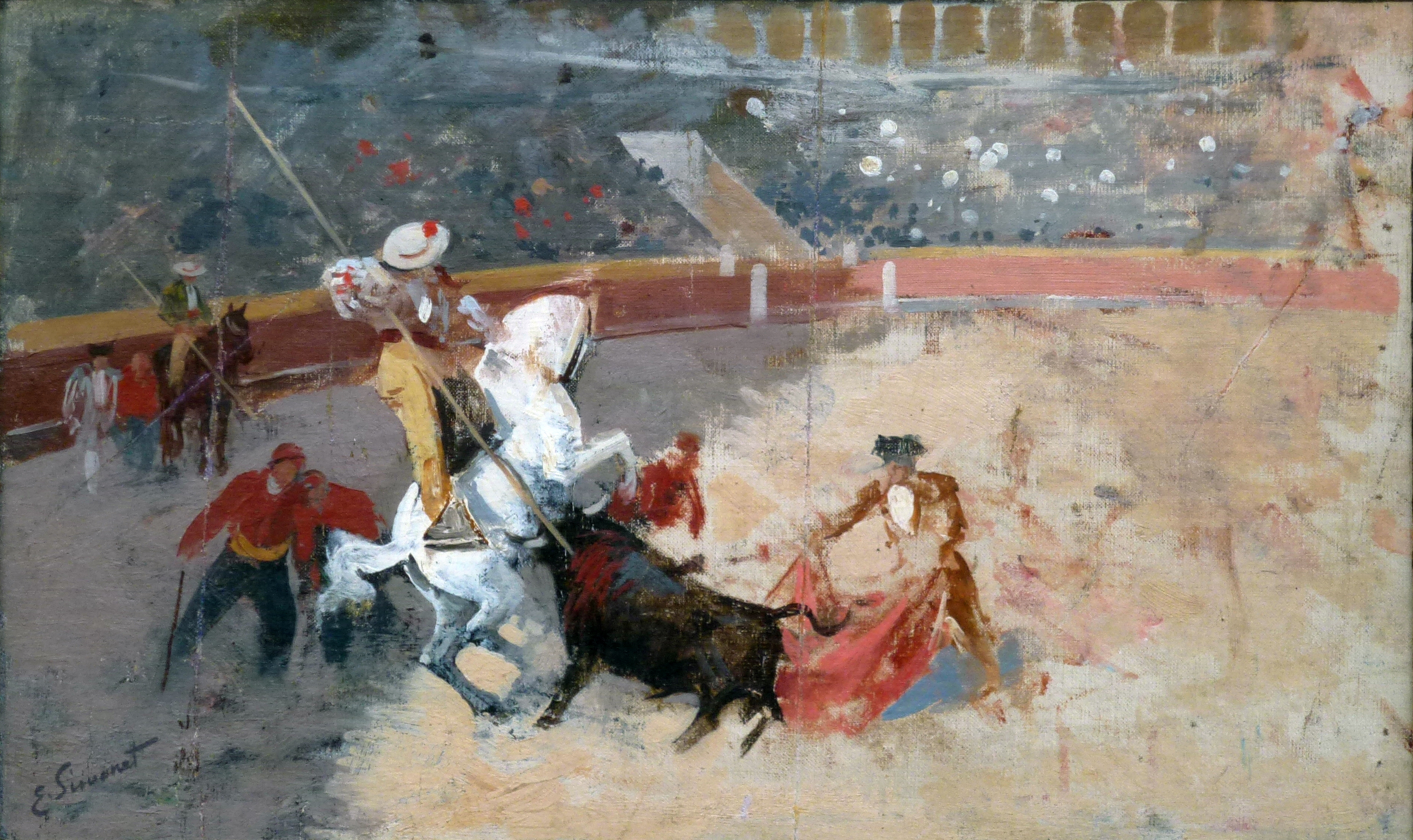Spanish-style bullfighting