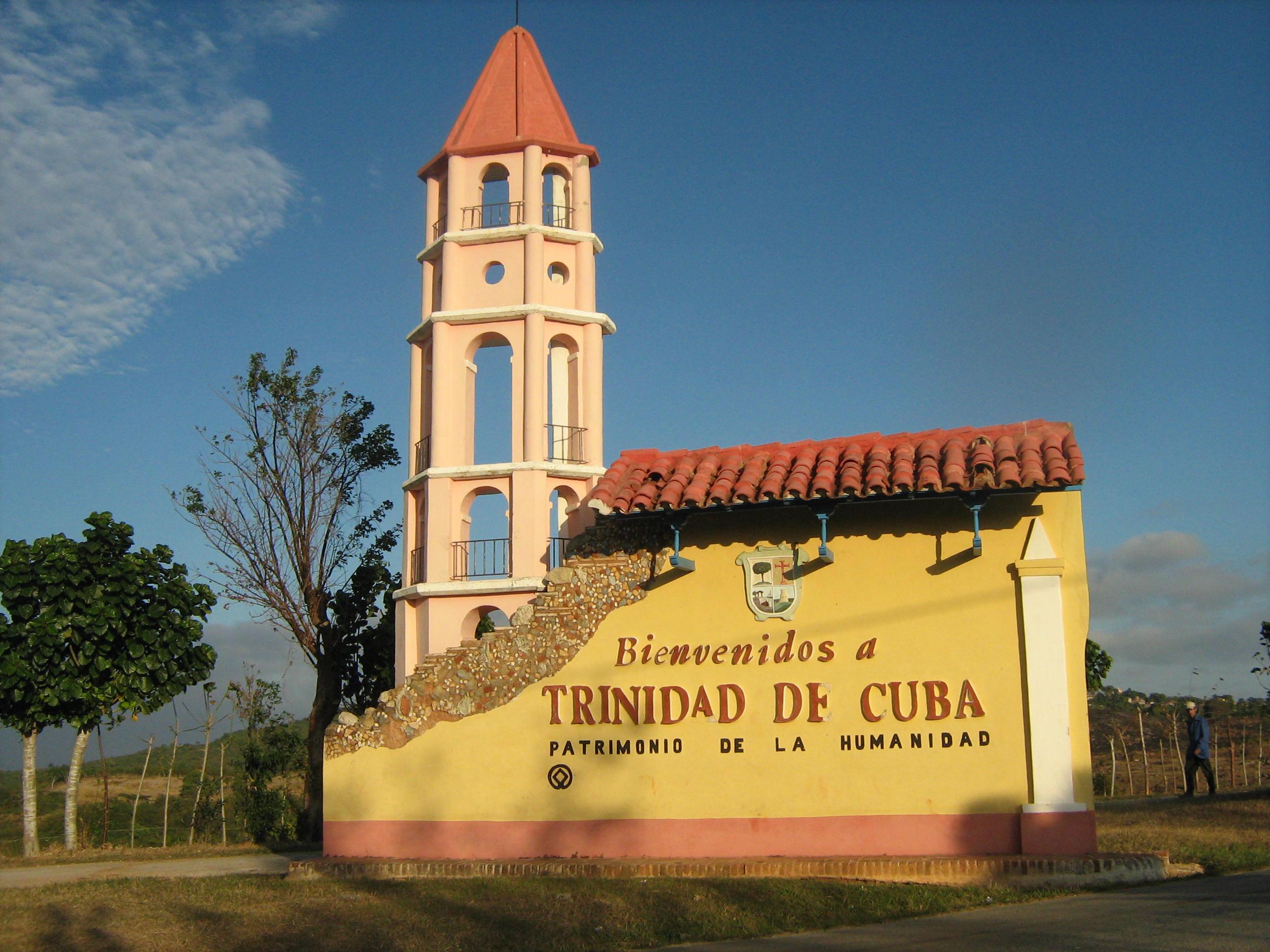 Entrada a Trinidad de Cuba