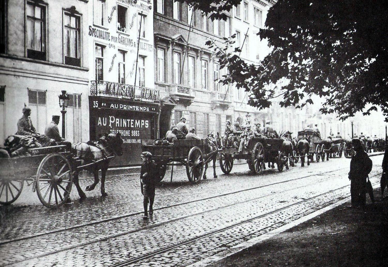 Invasione Tedesca Del Belgio 1914 Wikipedia