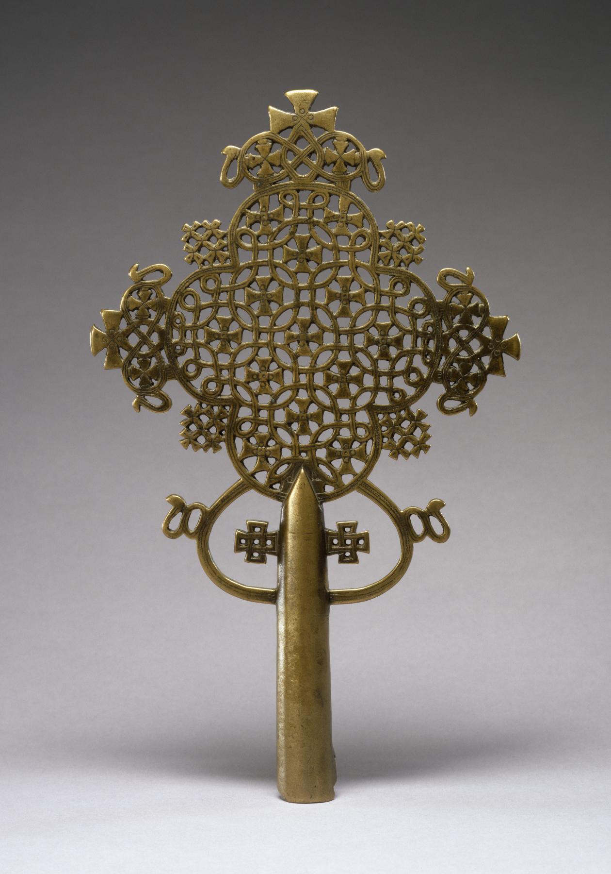 Ethiopian Wooden Cross File:Ethiopian - Proce...
