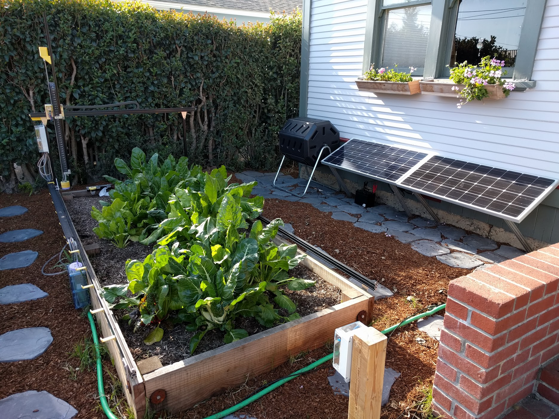 file farmbot genesis with solar panel battery and compost bin jpg