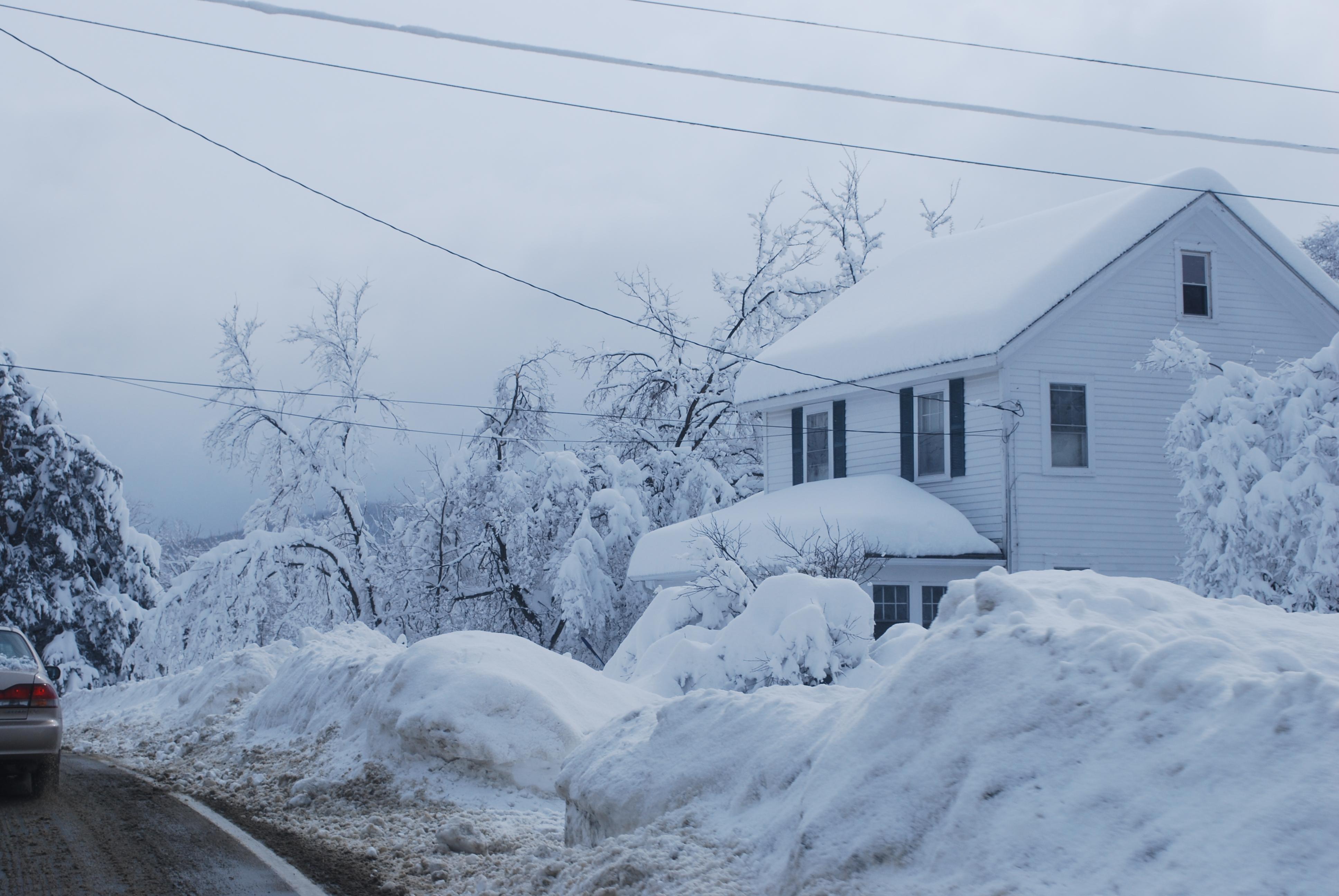 Buffalo New York Snow Storm