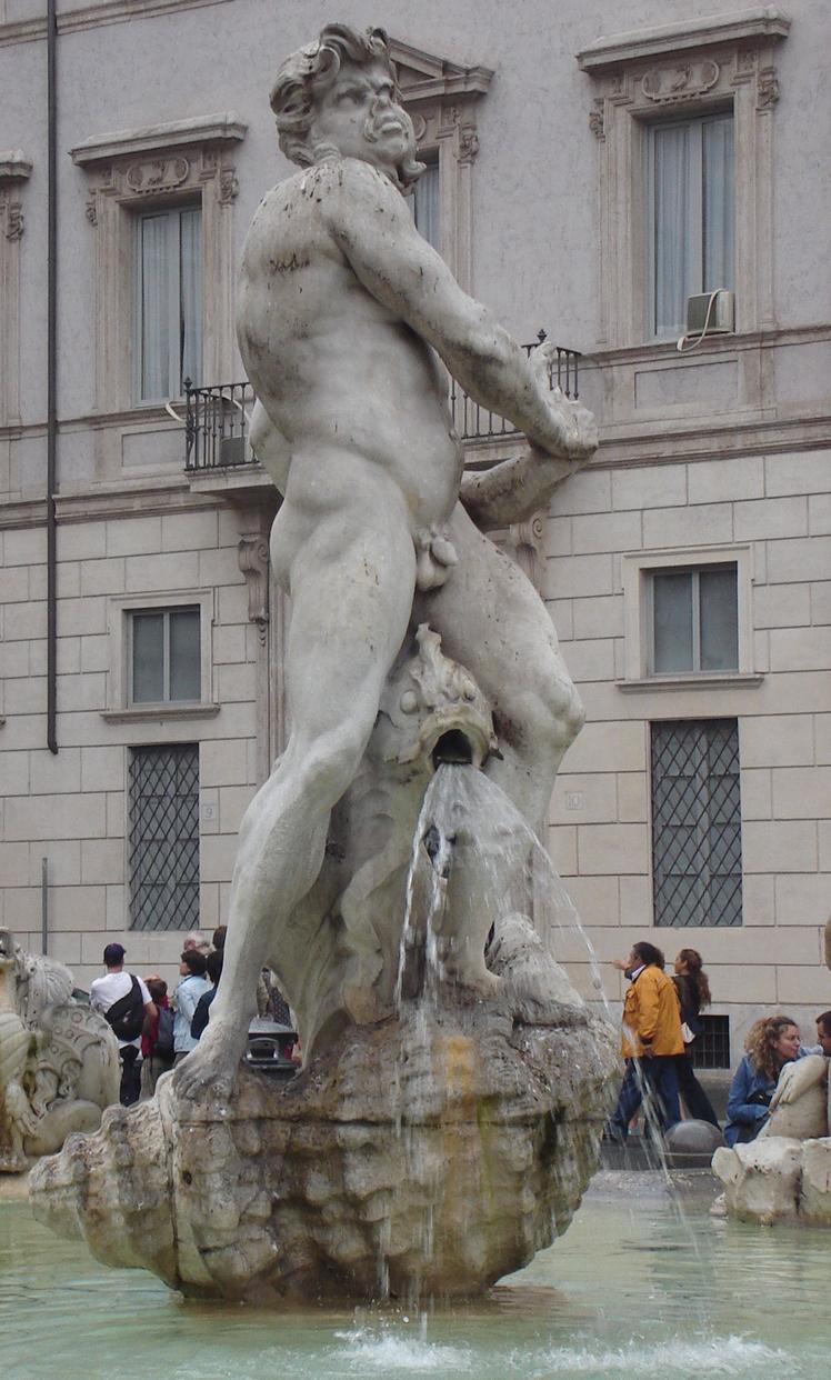 Fontana del Moro central statue.jpg