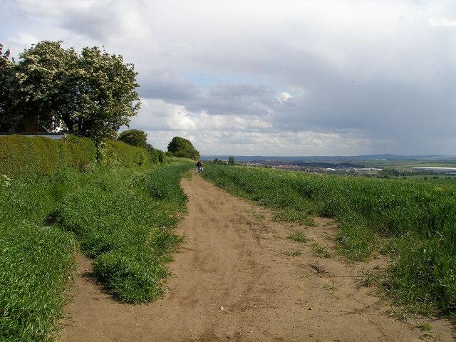 Footpath forming part of Barnsley Boundary Walk - geograph.org.uk - 438280