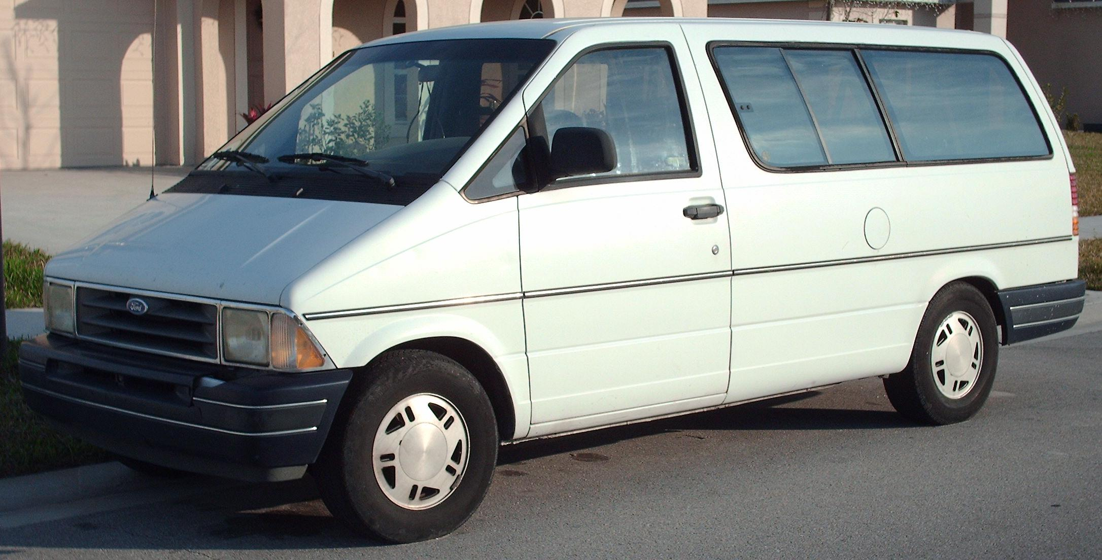 Ford Aerostar Wikipedia 1995 Taurus Engine Diagram