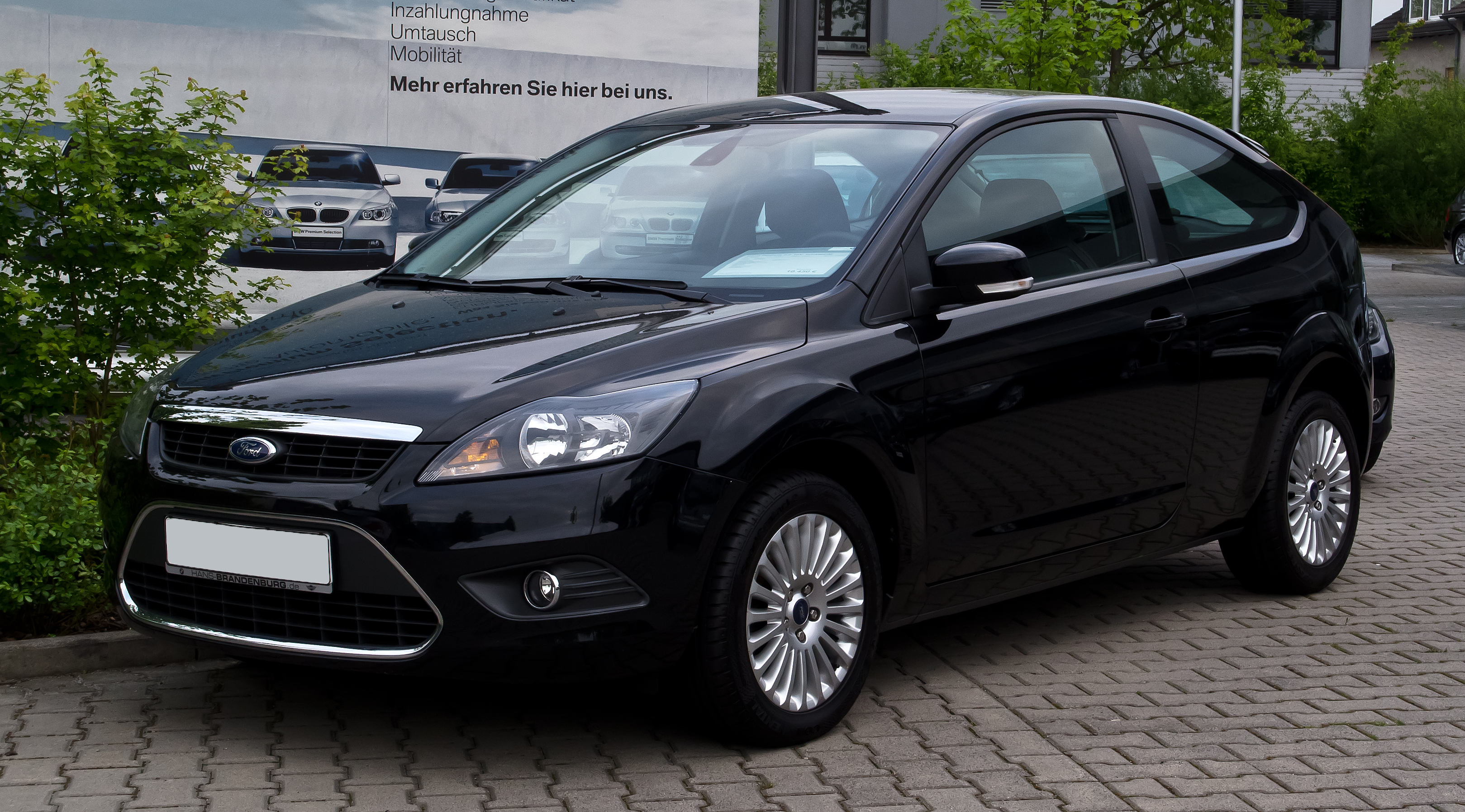 file ford focus 2 0 titanium ii facelift frontansicht 18 mai 2012. Black Bedroom Furniture Sets. Home Design Ideas