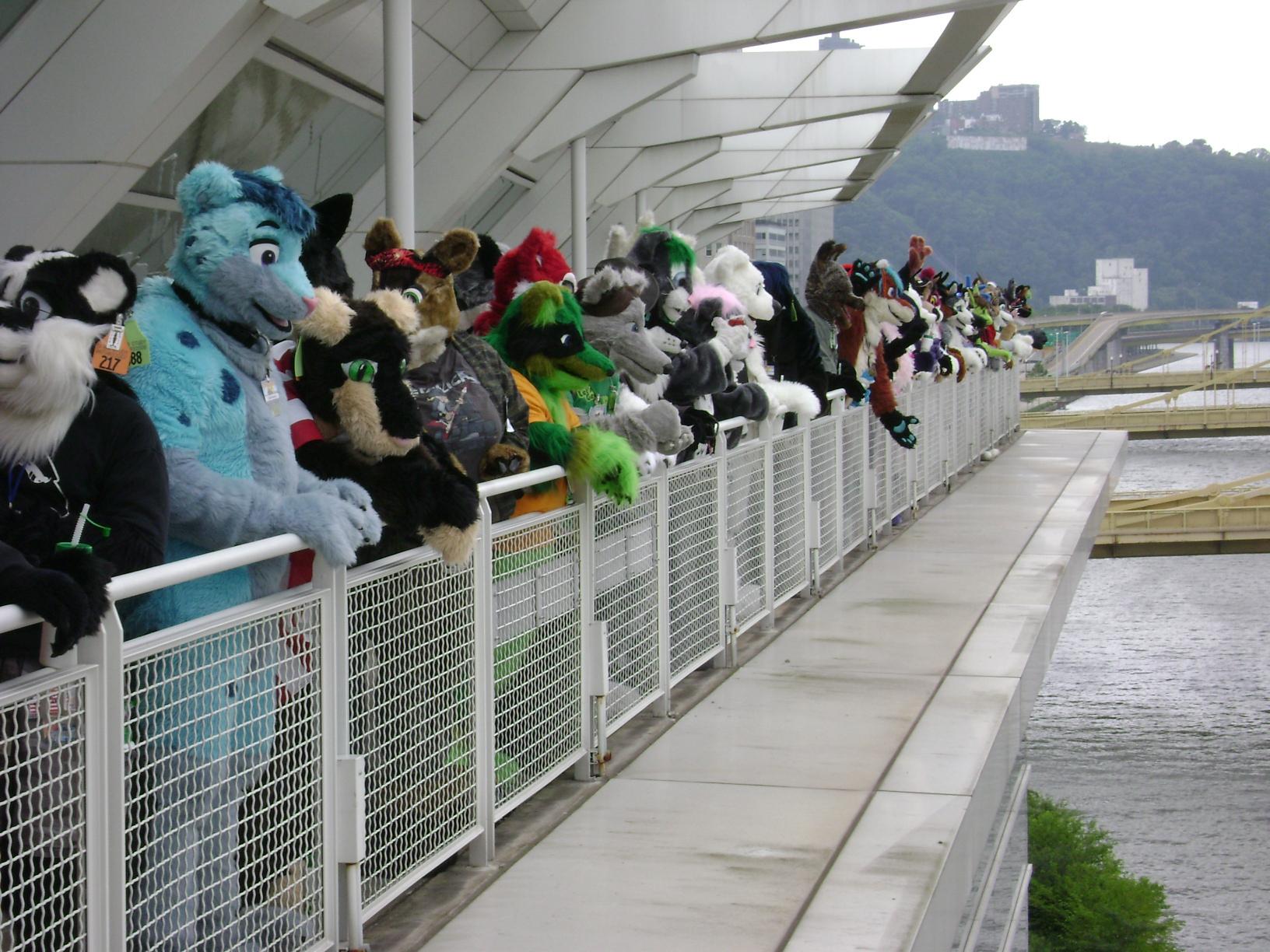 Anthrocon 2012 Fursuit Photo File:fursuit Parade Group