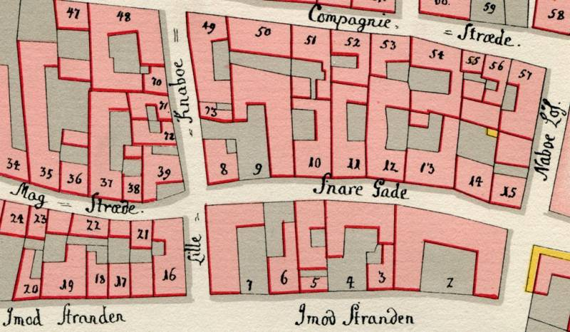 File Geddes Kvarterkort Snaregade Jpg Wikipedia