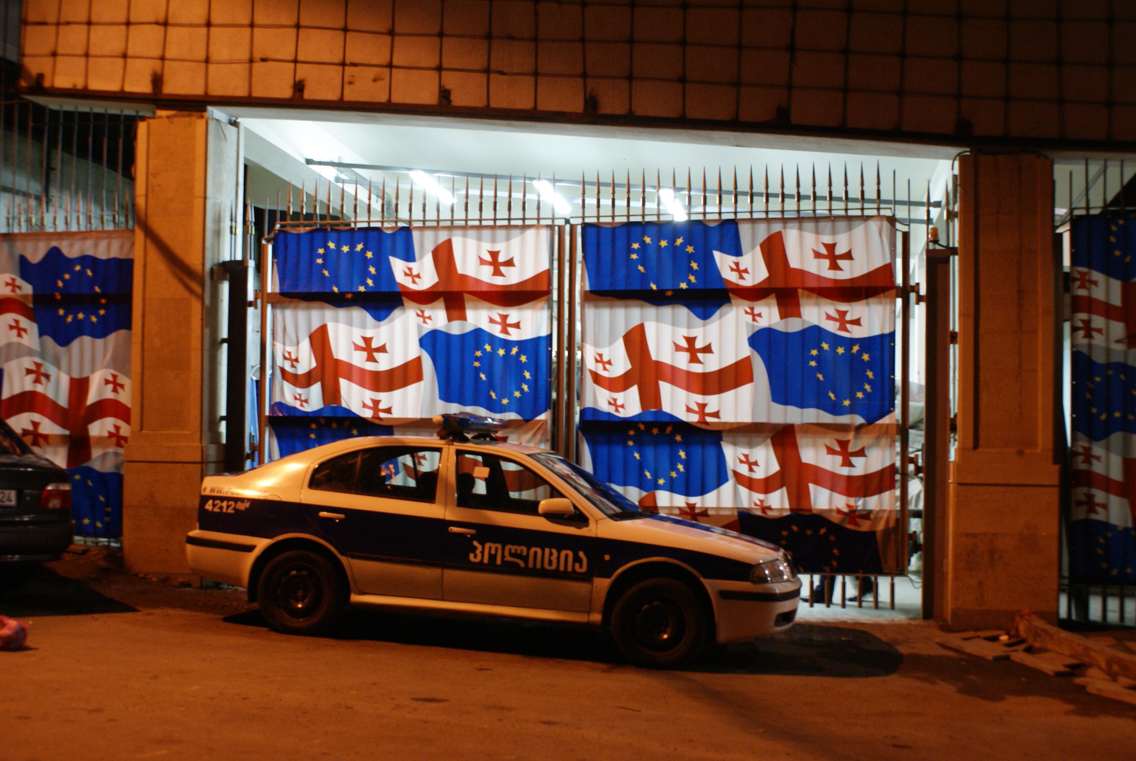 How To Buy A Car In Tbilisi Georgia: File:Georgia (Tbilisi) Police Car.JPG