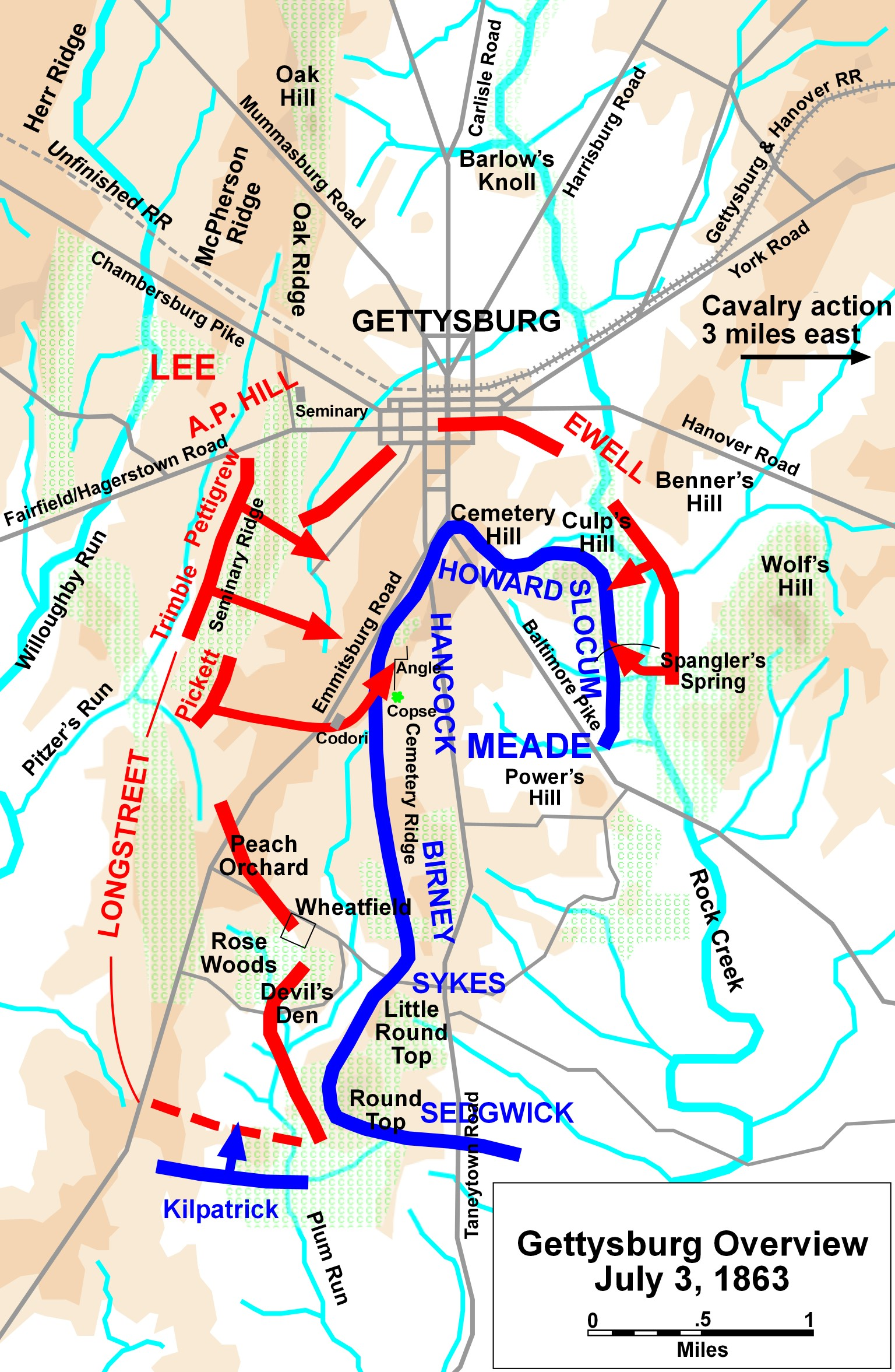 maps county with File Gettysburg Battle Map Day3 on Brazos Bend besides Map Iconic Cheeses Italy also Seal Beach furthermore Northville PlacidTrail as well 12907191.