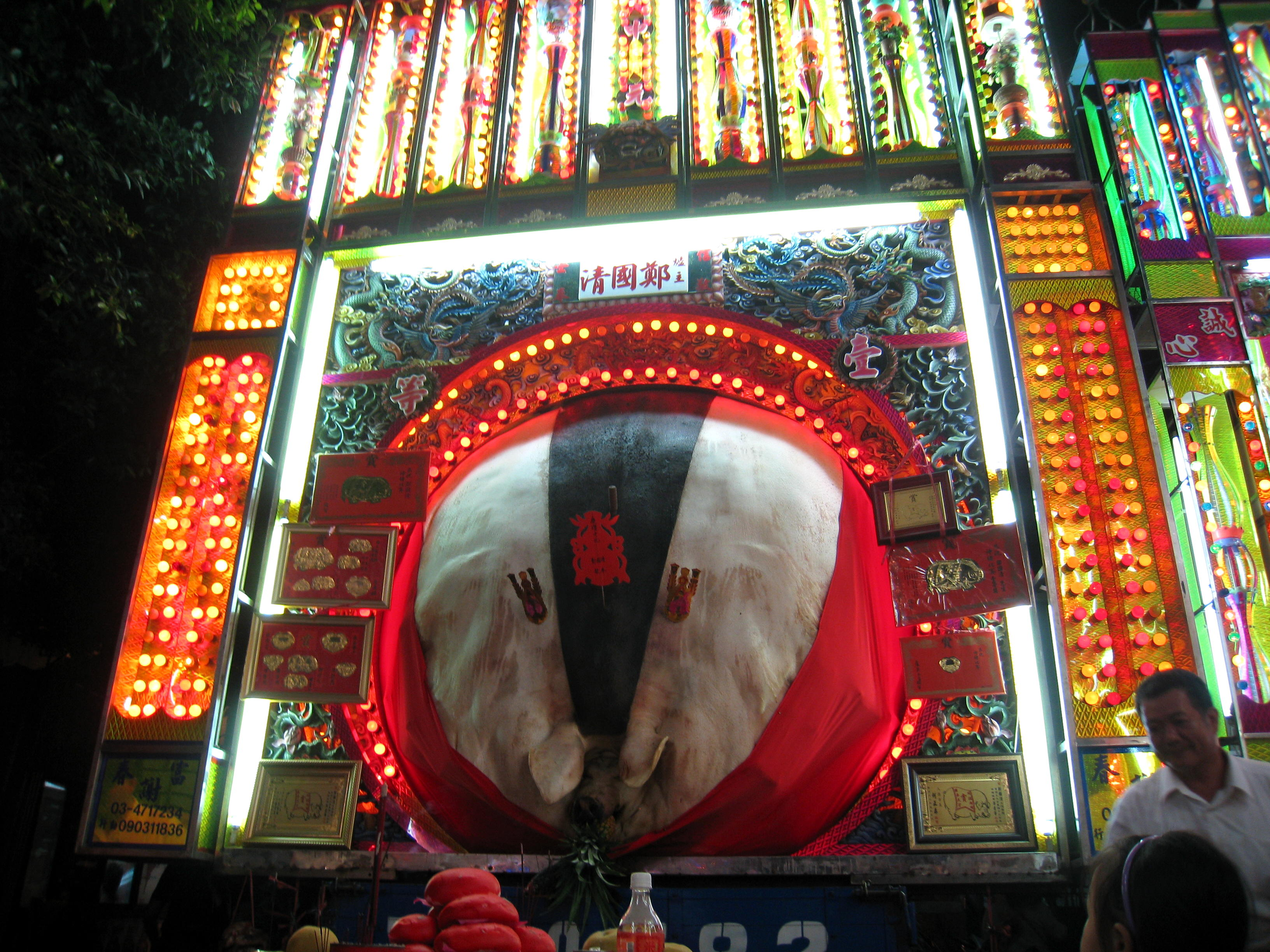 Ghost-month-in-taiwan-pig-of-god-Festival-Ritual-photo-by-wikipedia