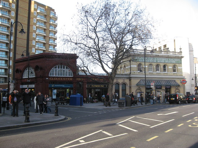 Gloucester Road Underground Station, London - geograph.org.uk - 1615552