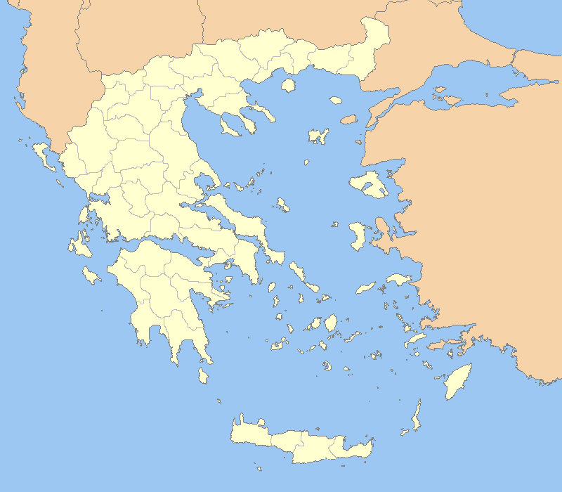 Topographic Map Of Ancient Greece.Atlas Of Greece Wikimedia Commons