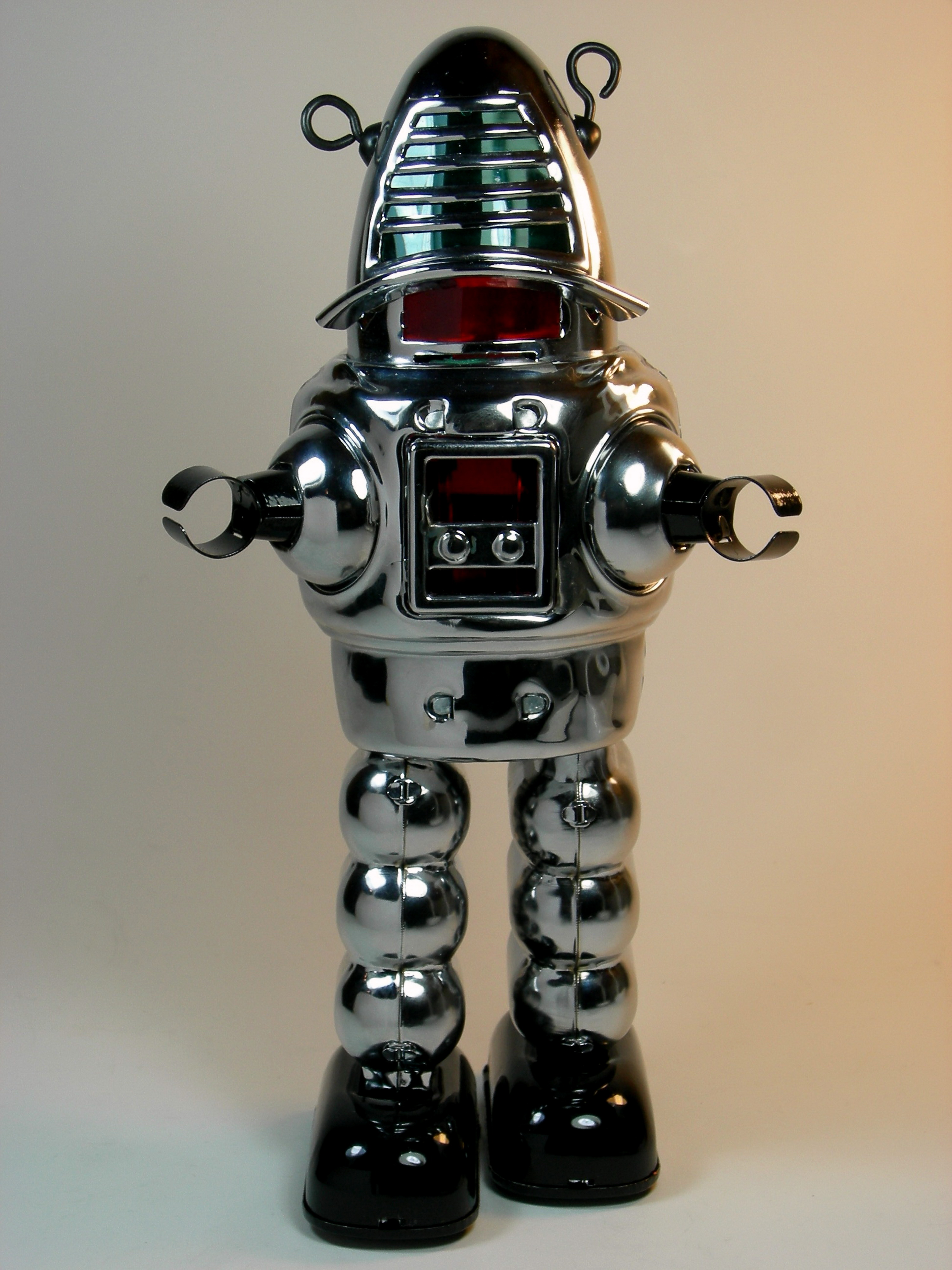 File:Ha Ha Toy – Tin Wind Up – Planet Robot – Chrome ...