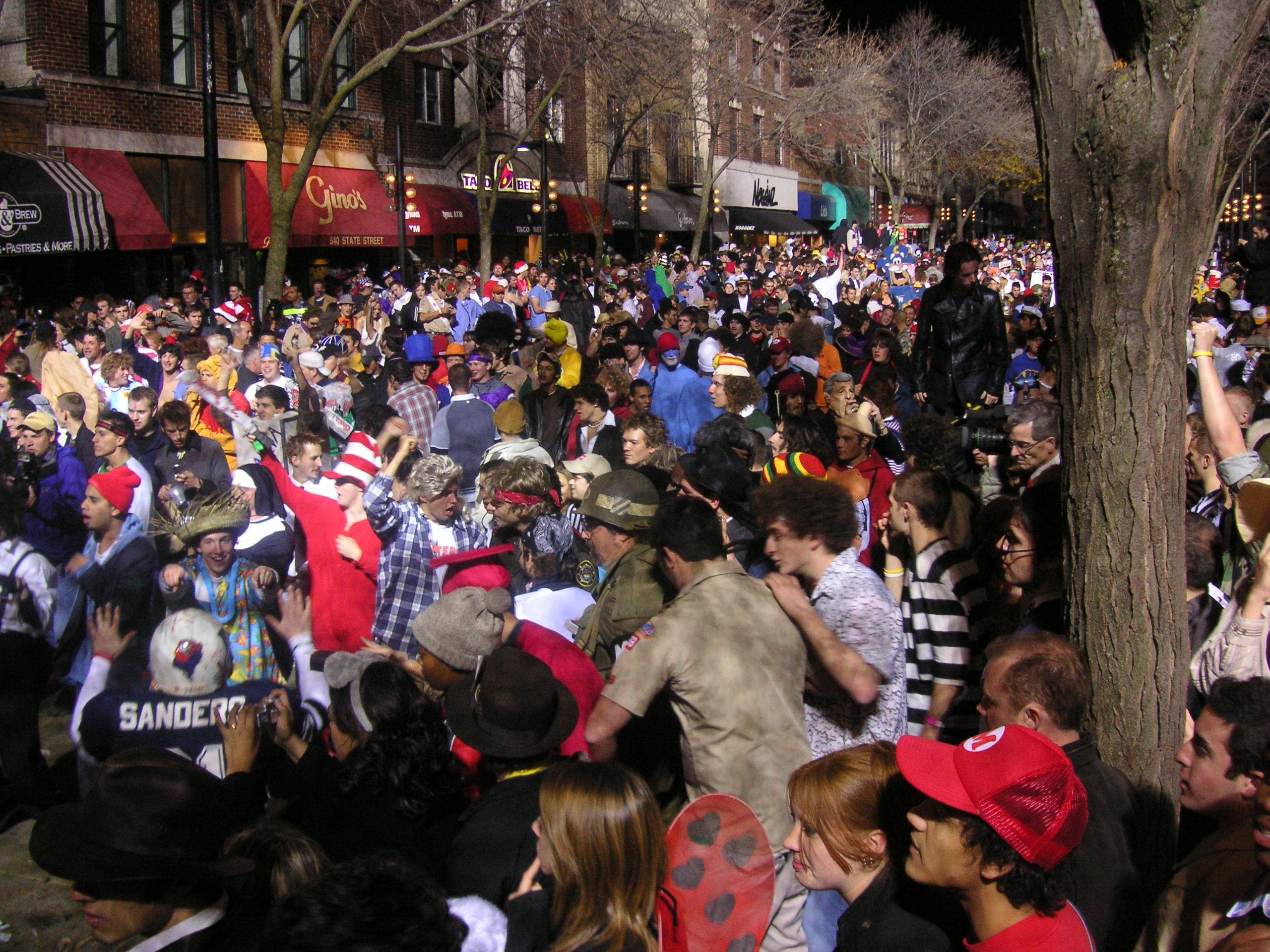 Crash Madison Plan State Street >> State Street Halloween Party Wikipedia