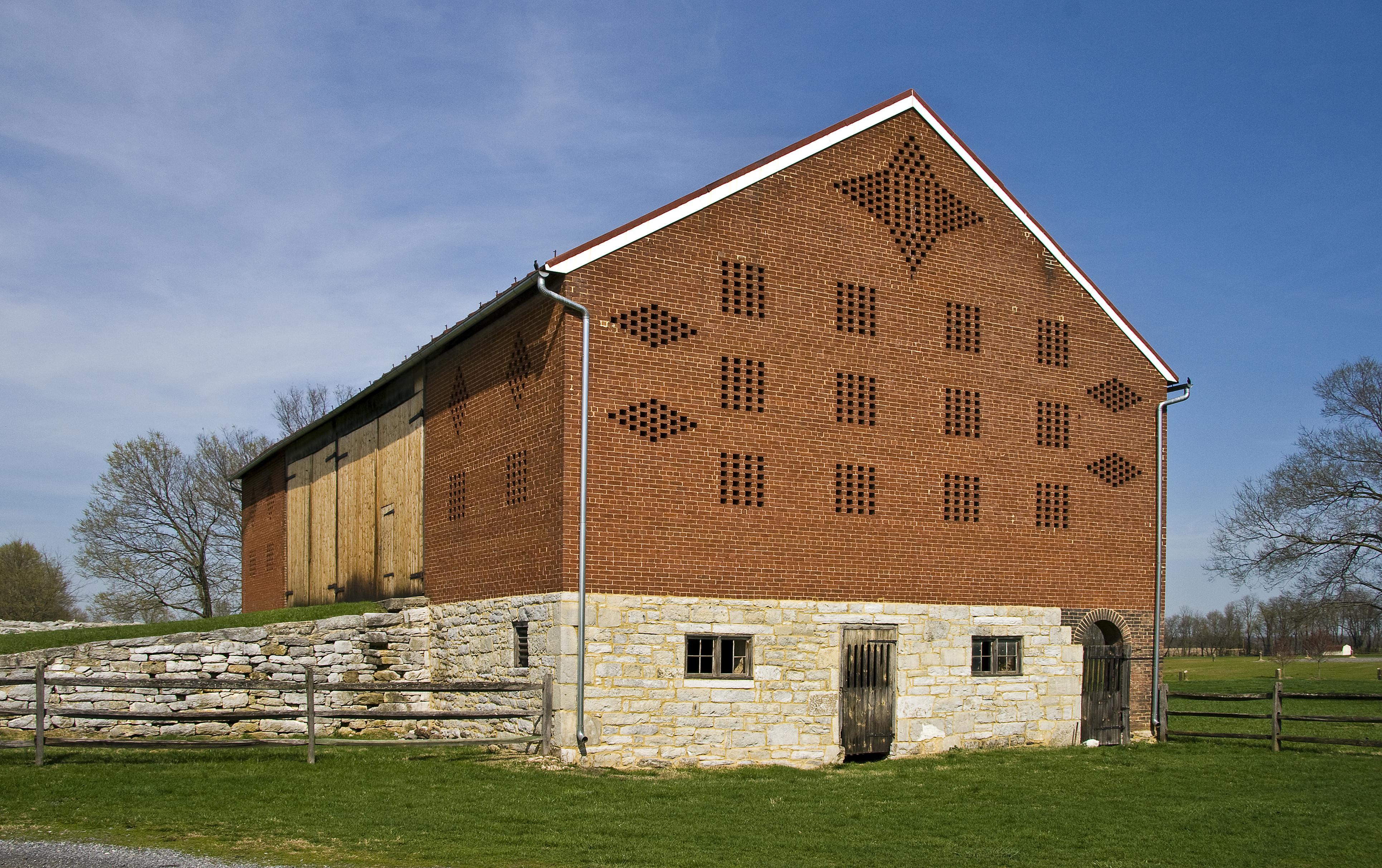 Farm Barn file:harris farm barn, walkersville md1 - wikimedia commons