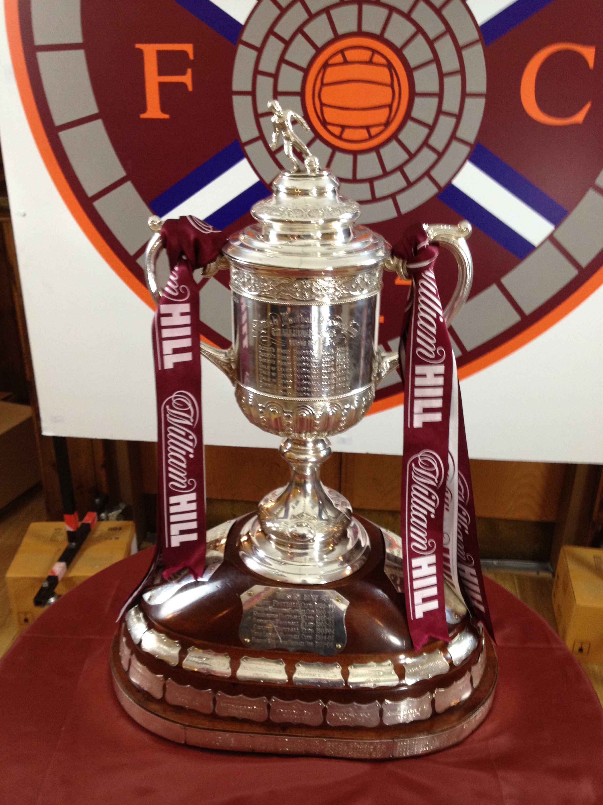 Hearts Scottish Cup 2012