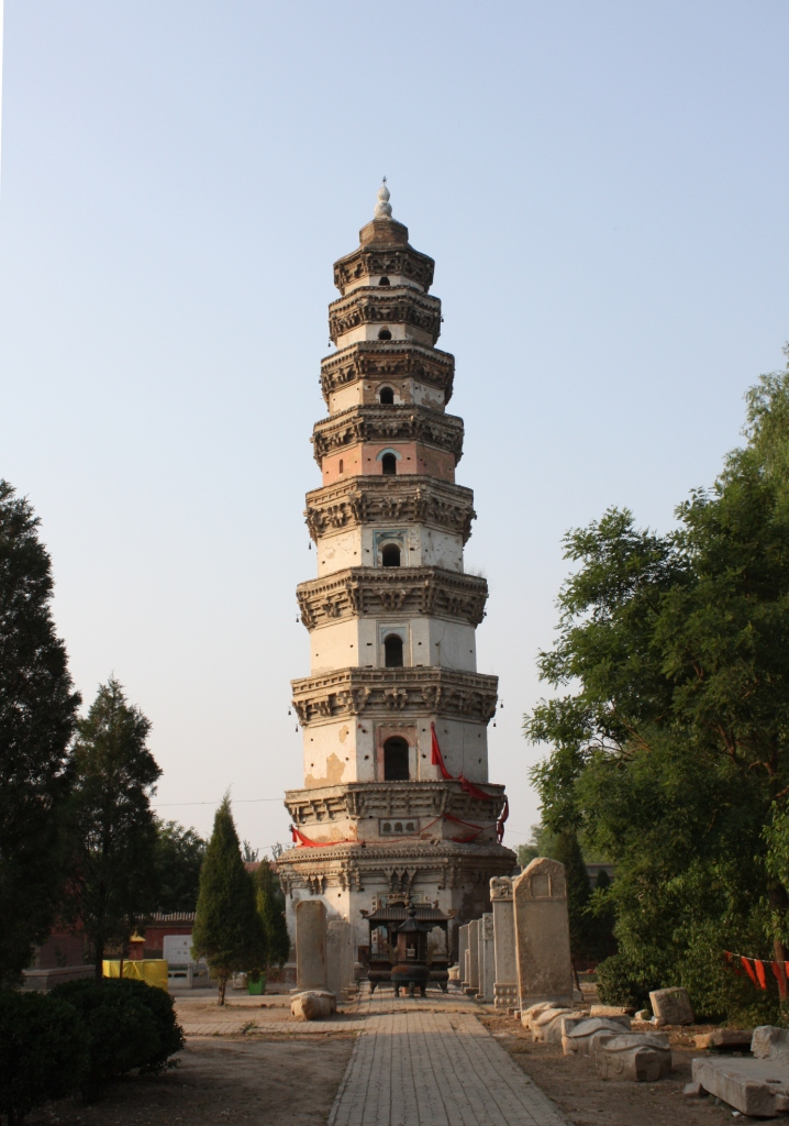 Hengshui China  city photo : Hengshui Budist Temple by Graham Strachan Wikimedia Commons