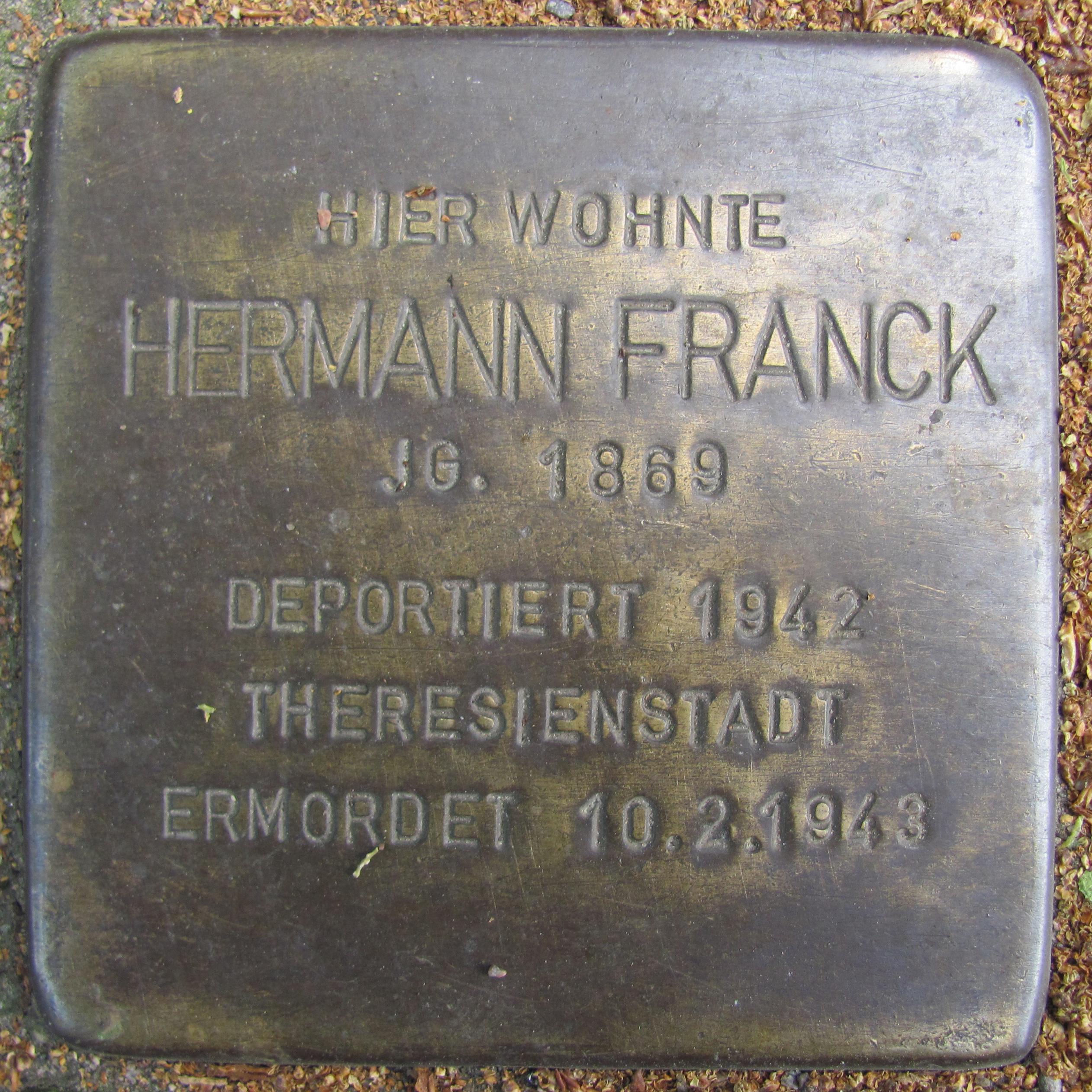 Datei:Hermann Franck - Feßlerstraße 2 (Hamburg-Barmbek-Süd ...