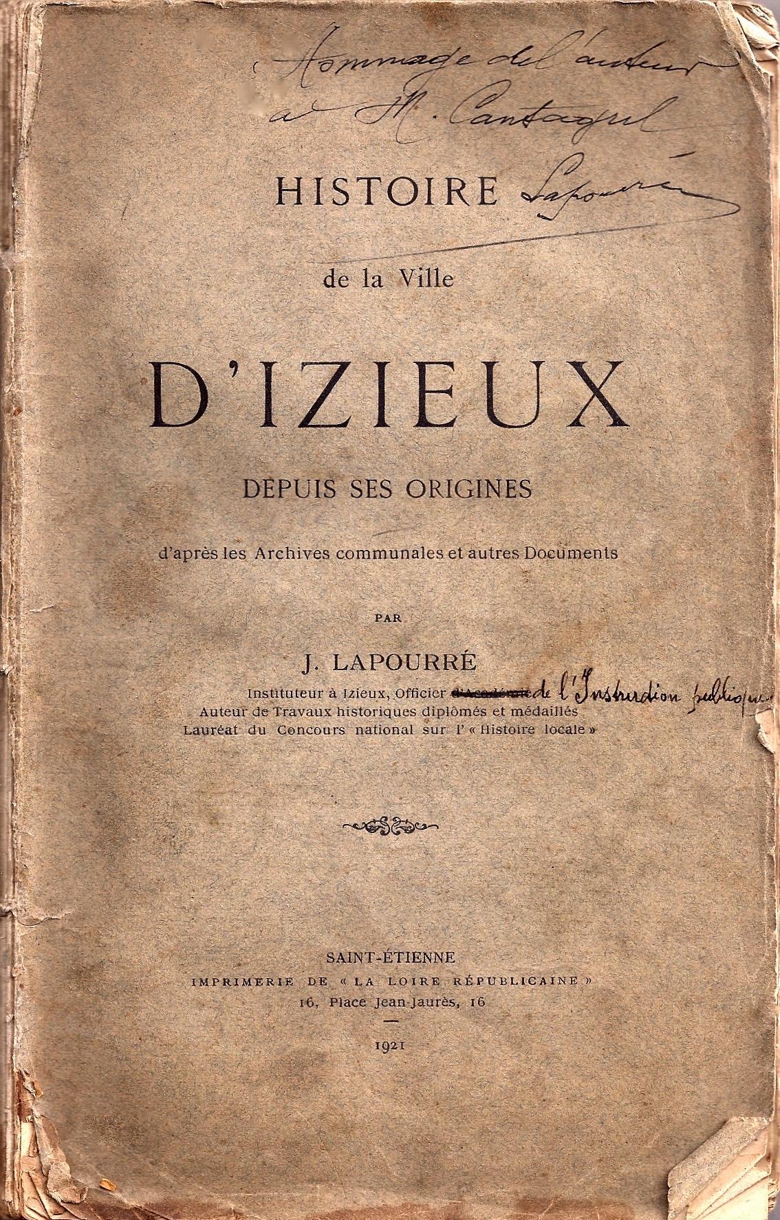 File histoire de la ville d 39 izieux jean lapourr 1921 for College jean de la mennais piscine