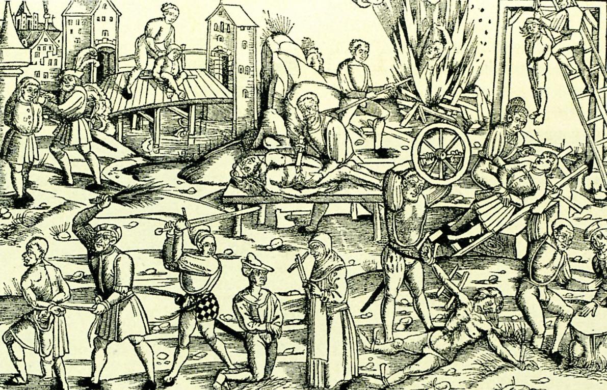 Historische-Darstellung-der-Torturen