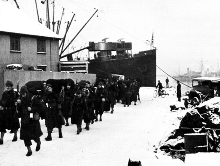 Port de Novograd IBC_US_Army_Troops_Arriving_In_Reykjavik_January_1942