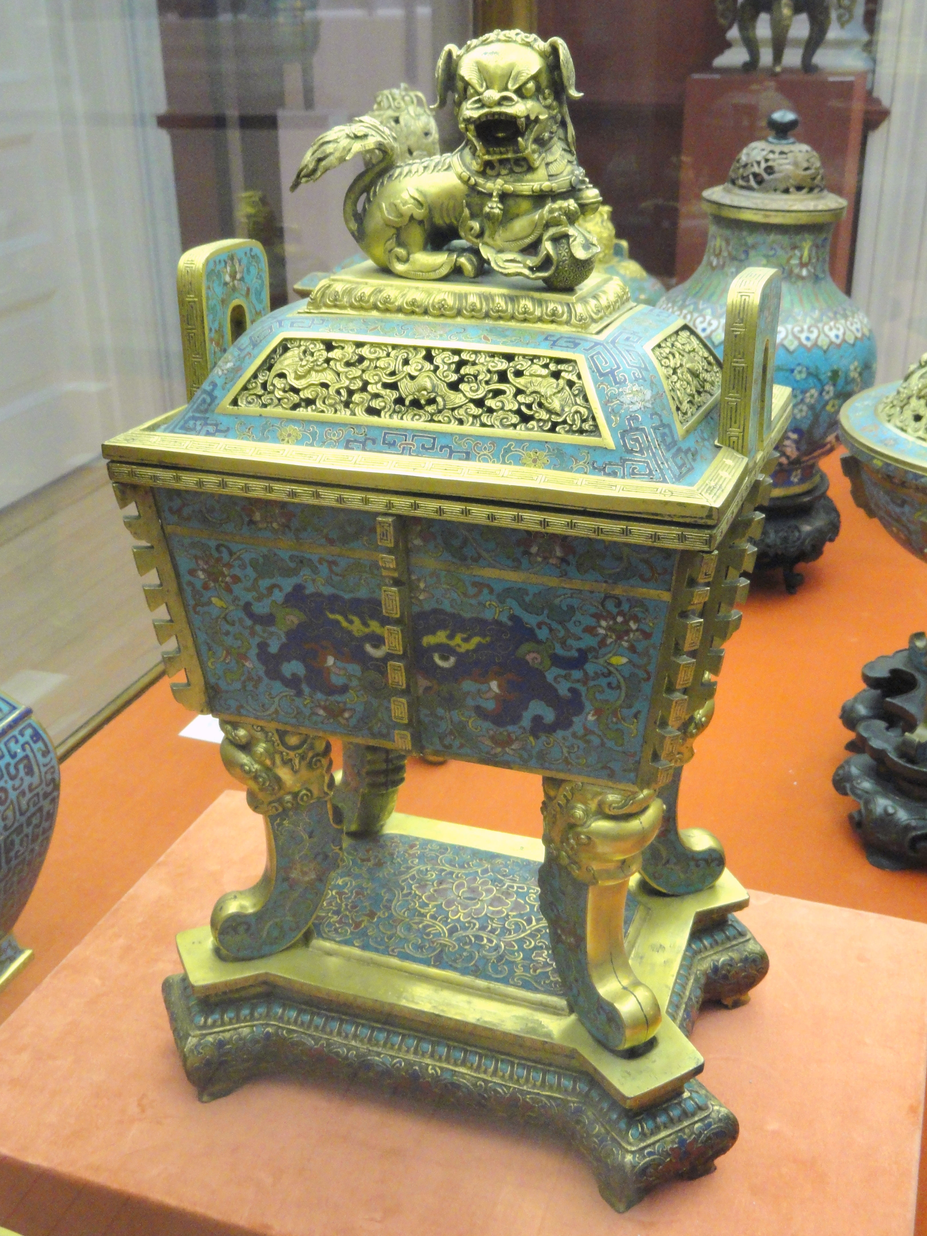 File Incense Burner With Taoist Symbols 1736 1795 Chinese Cloisonne Collection George Walter Vincent Smith Art Museum Dsc03720 Jpg Wikimedia Commons
