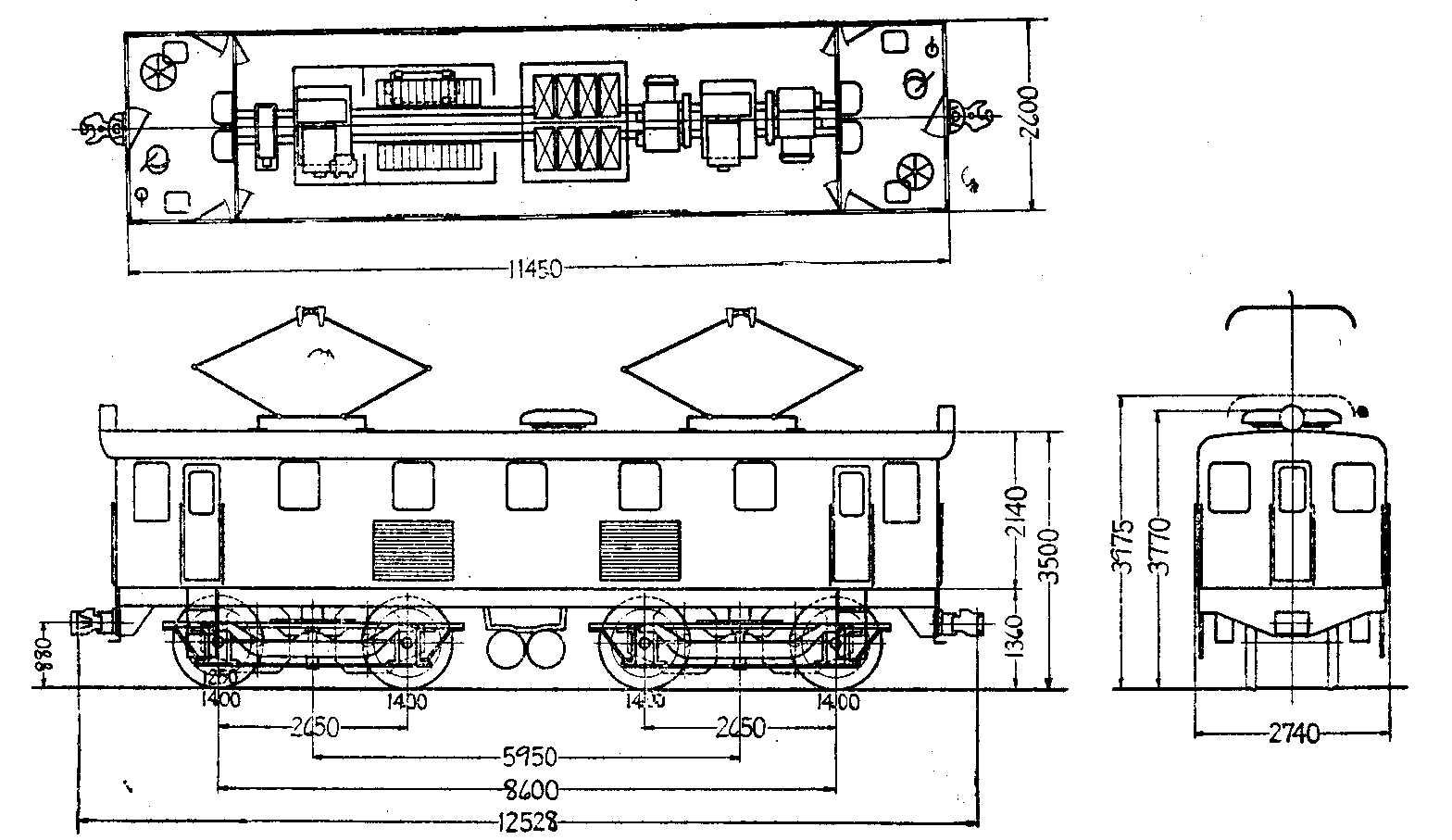 国鉄ED15形電気機関車 - JNR Class ED15