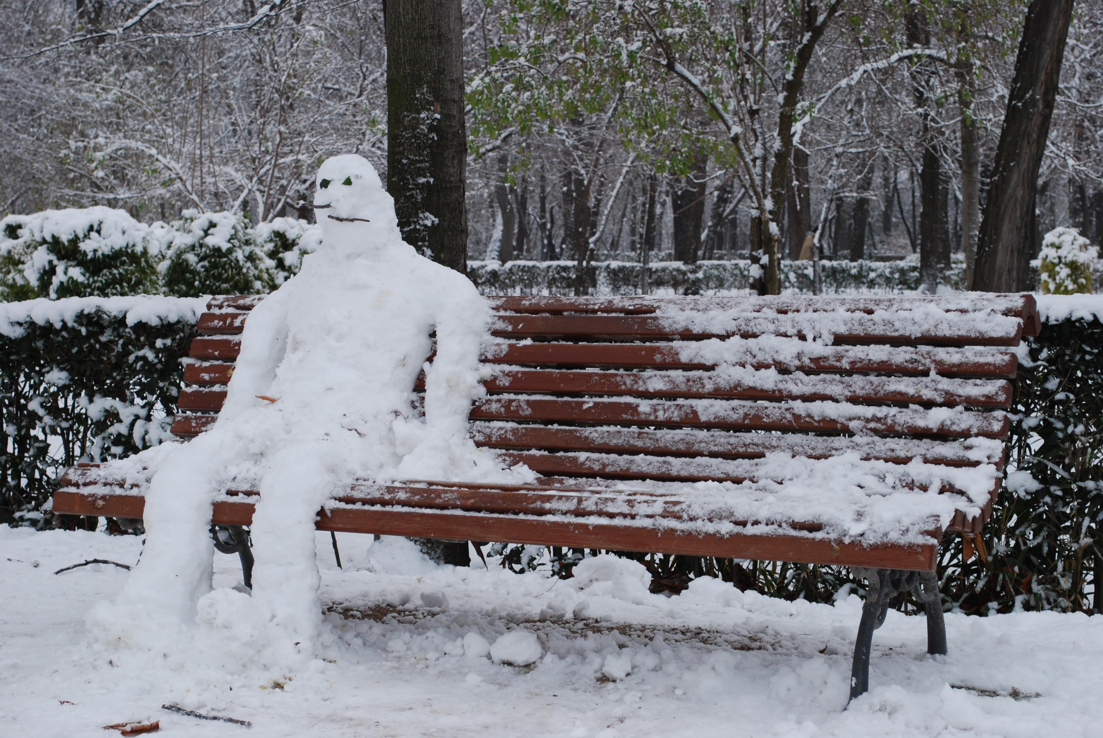 Muñecos de nieve [imagenes]