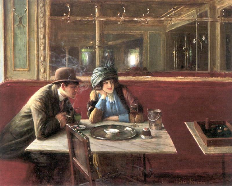 Cafe Au Paris Artist