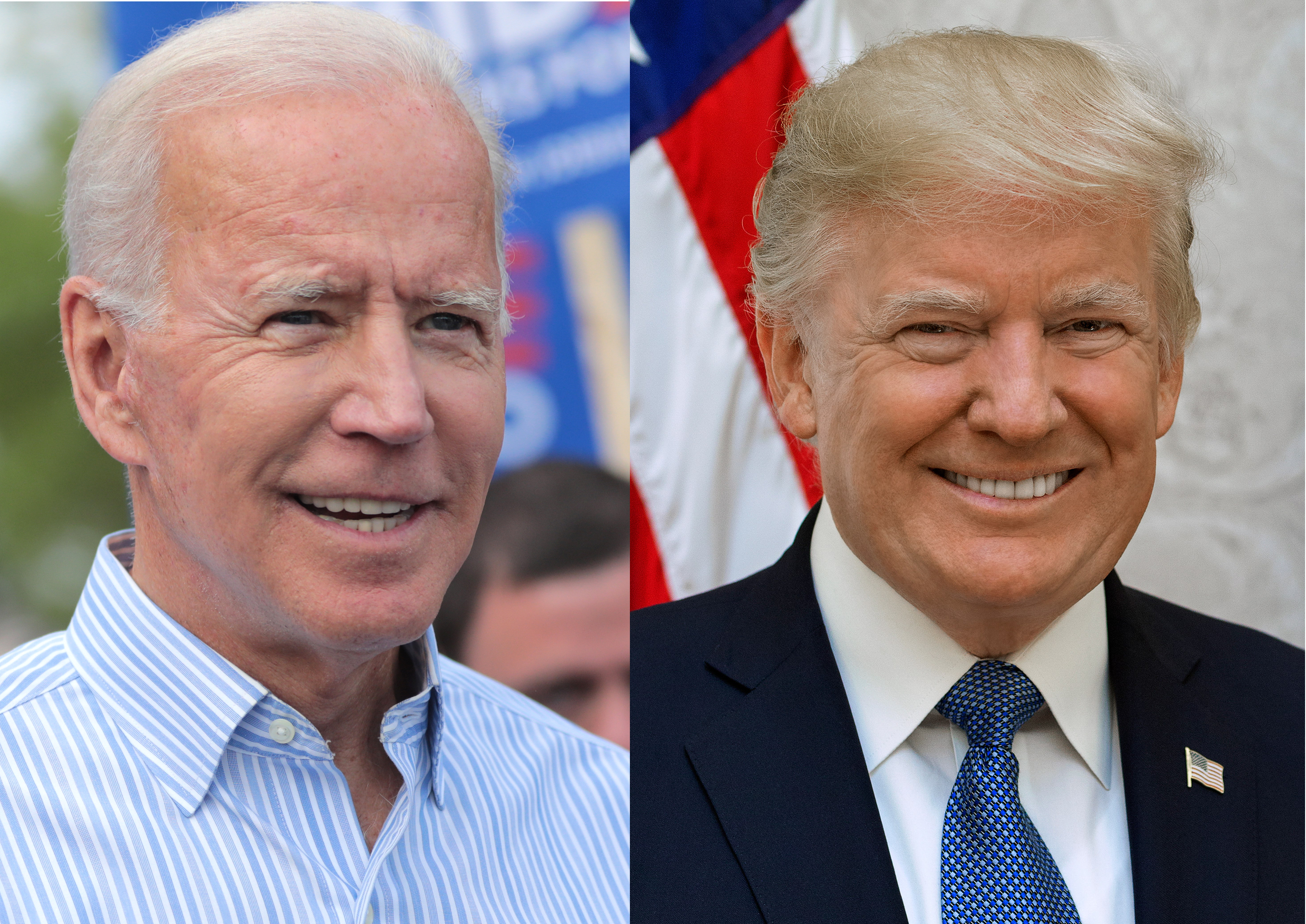 File:Joe Biden and Donald Trump.jpg - Wikimedia Commons