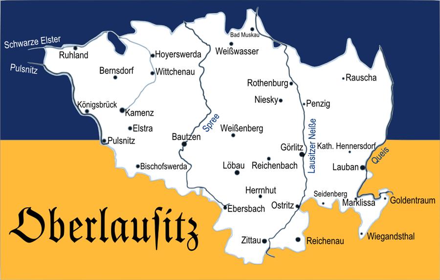 Lausitz Karte.File Karte Oberlausitz Png Wikimedia Commons