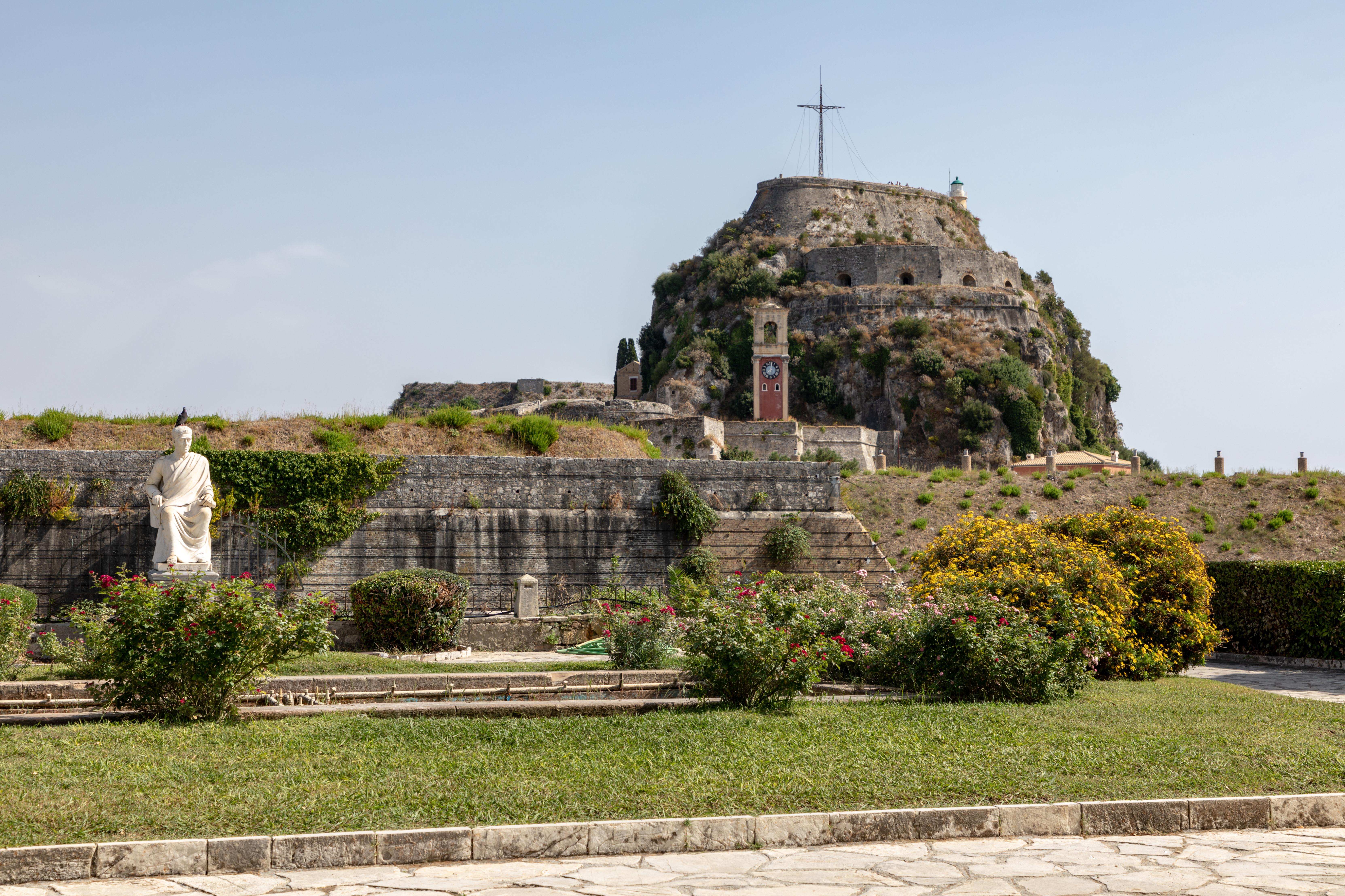 Frourio, Corfu, Greece (2018) German Alte Festung, Korfu, Griechenland (2018) object has role: photographer World Heritage Site ID: 978 refine date: 13:37
