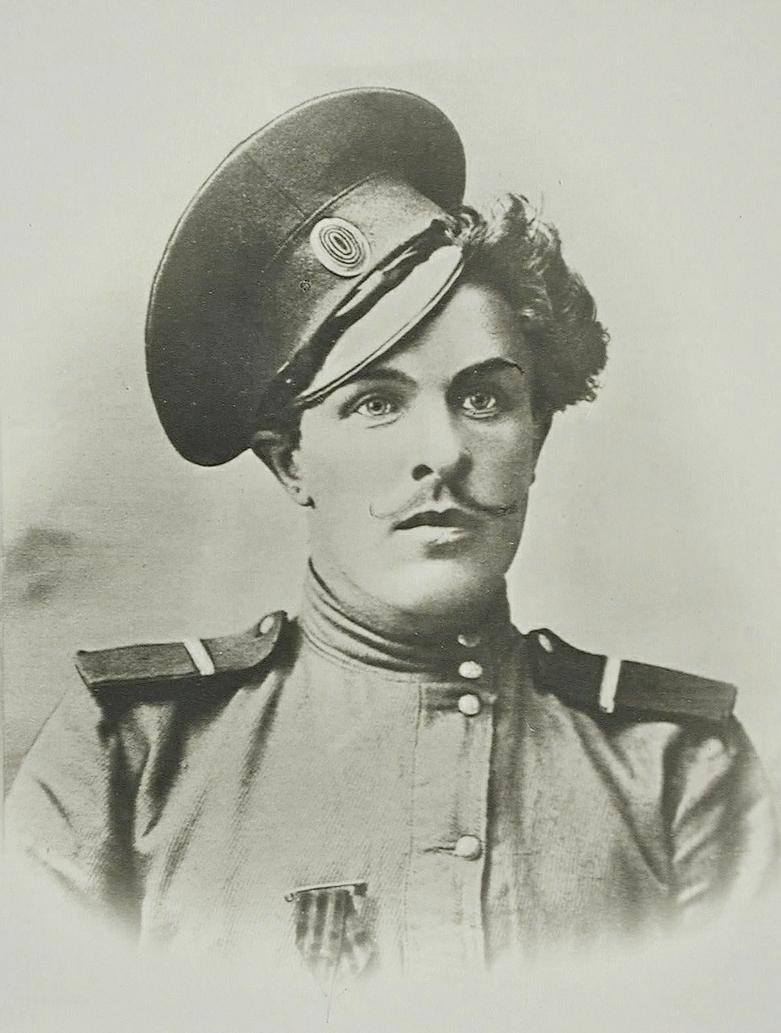 Первый Георгиевский кавалер Великой войны донской приказный Козьма Крючков, 1914 год