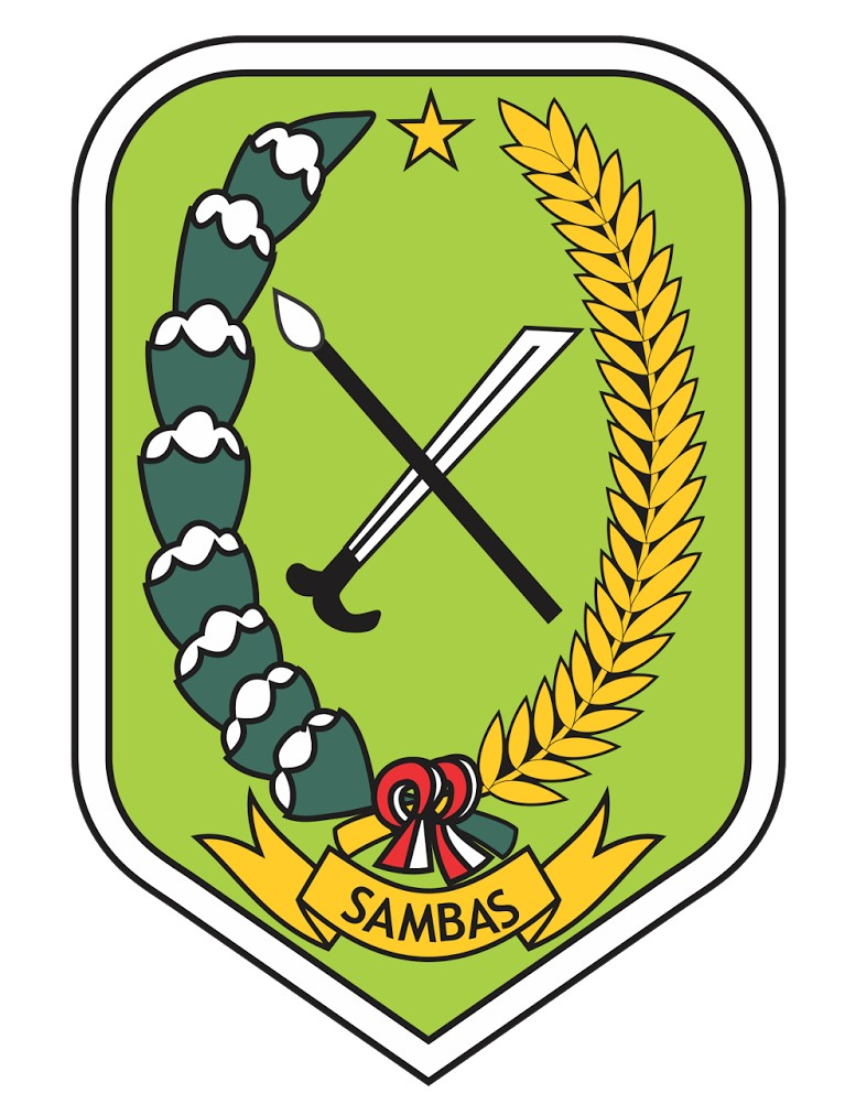 Berkas Lambang Kabupaten Sambas Jpeg Wikipedia Bahasa Indonesia Ensiklopedia Bebas