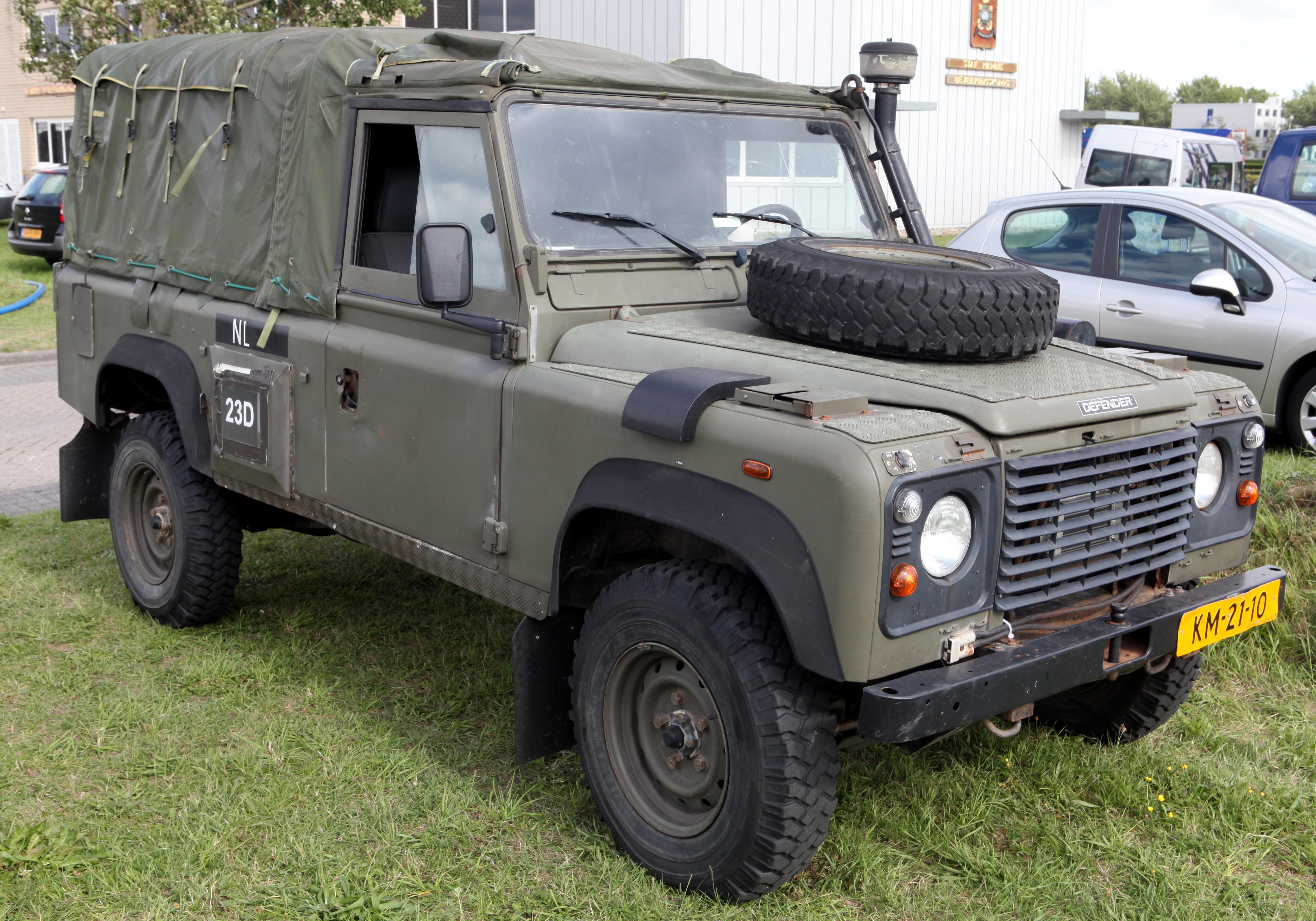 Land Rover Marin >> File Land Rover Defender Netherlands Marine Corps Flickr Joost J