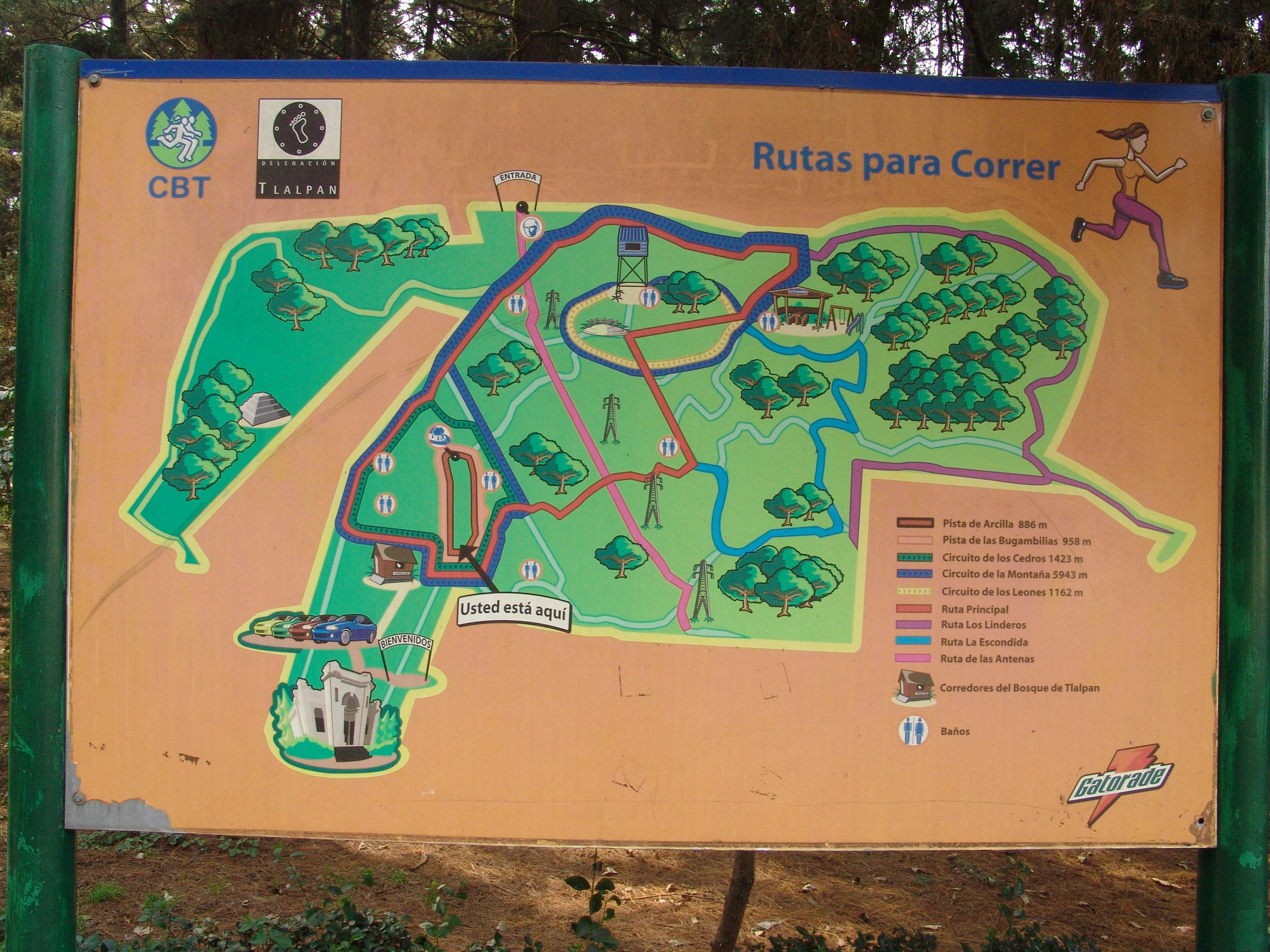 Circuito W Mapa : File:letreros del bosque de tlalpan 09.jpg wikimedia commons