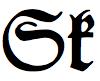 Letters Sk in Fraktur.png