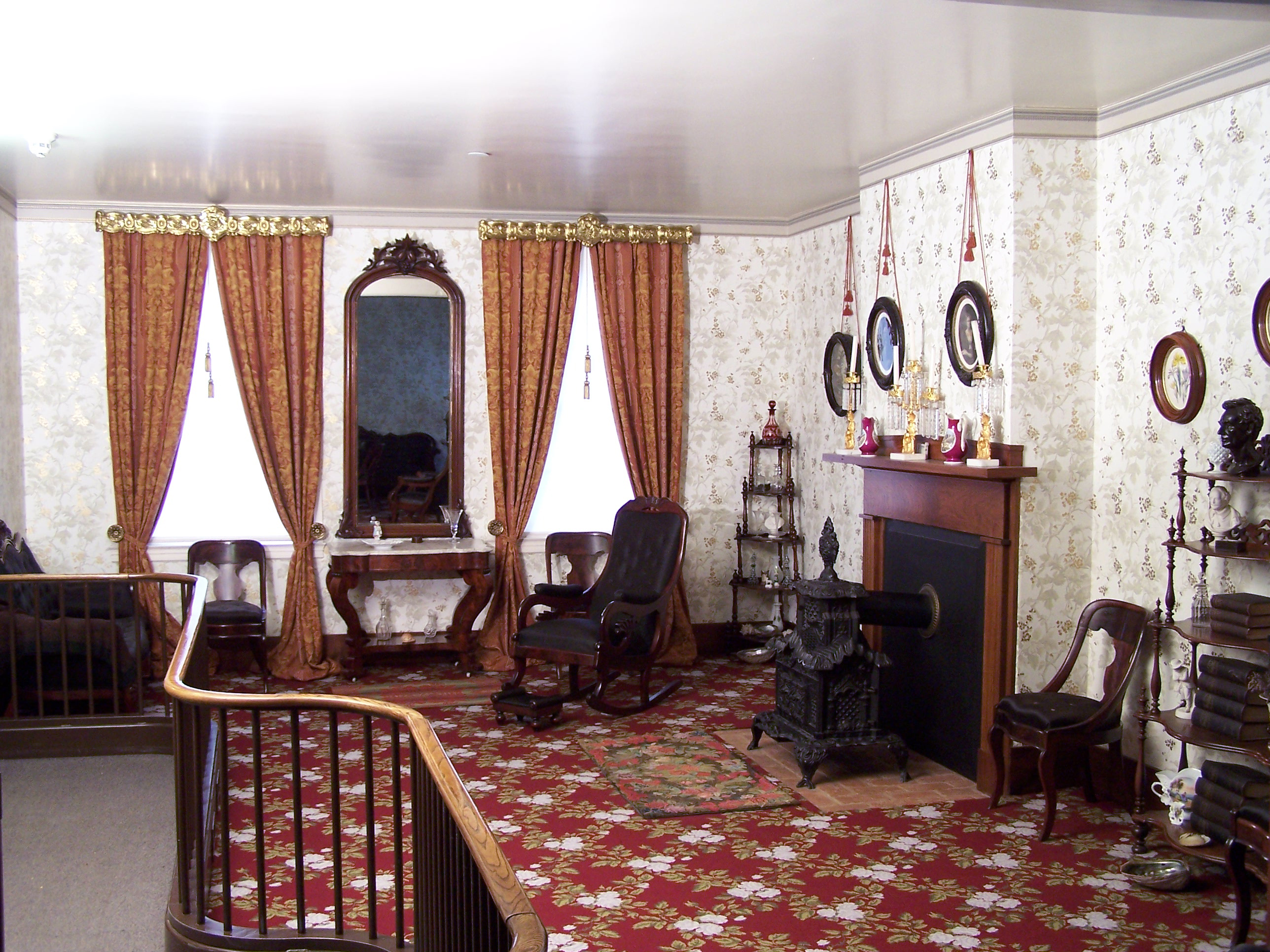 file lincoln home national historic site liho front parlor
