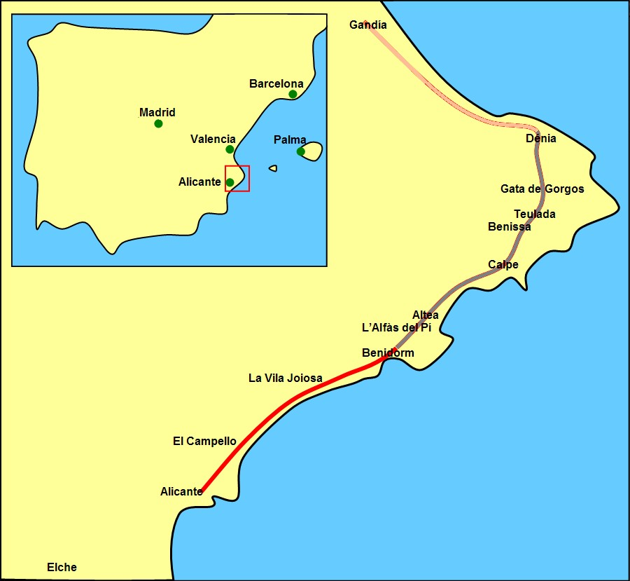 File Linien L1 Und L9 Stadtbahn Alicante Jpg Wikimedia Commons