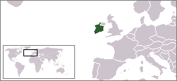 Location of the Irish Free State