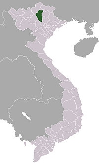 Location of Tuyên Quang Province