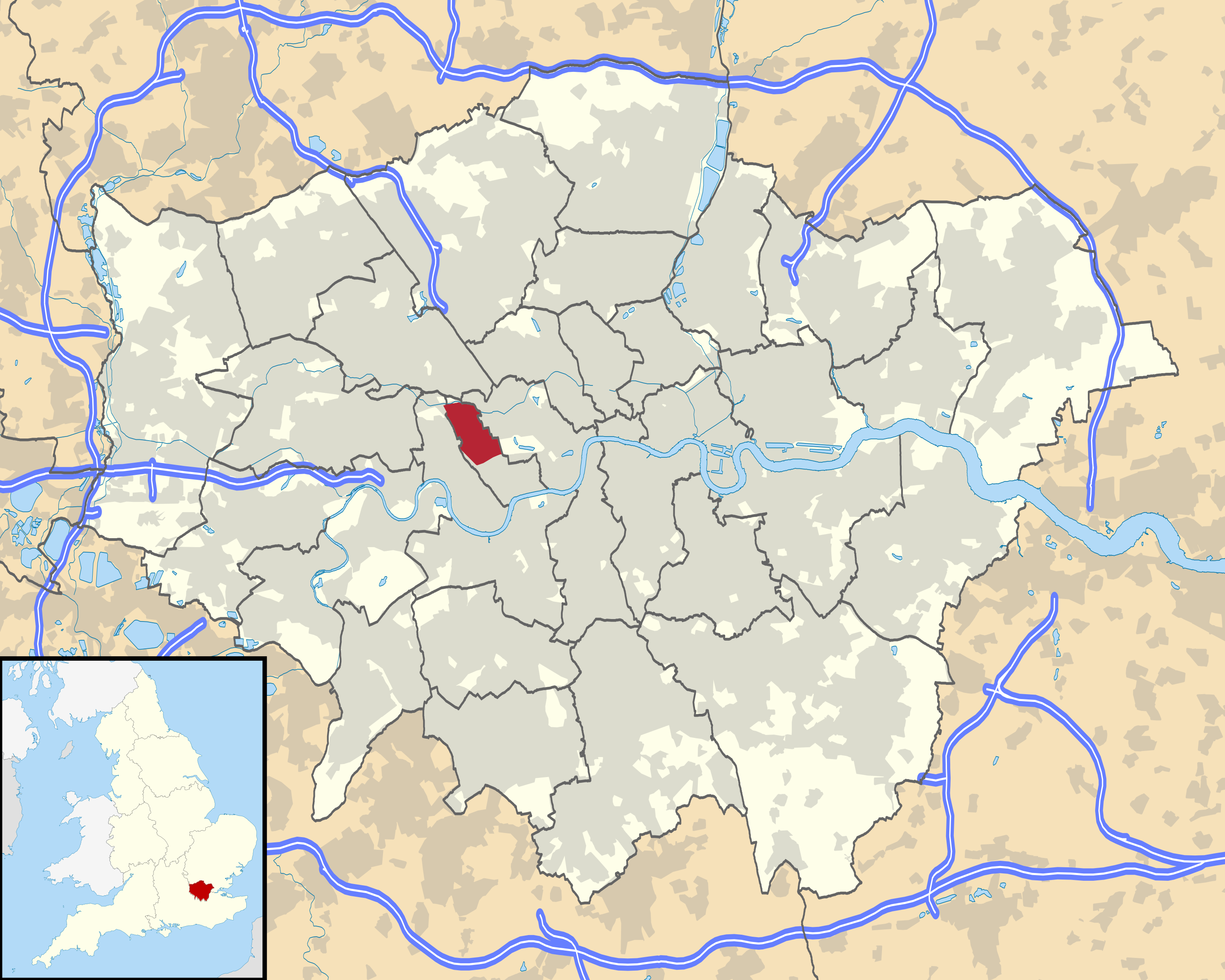 File:London Wikivoyage city regions maps   Notting Hill North