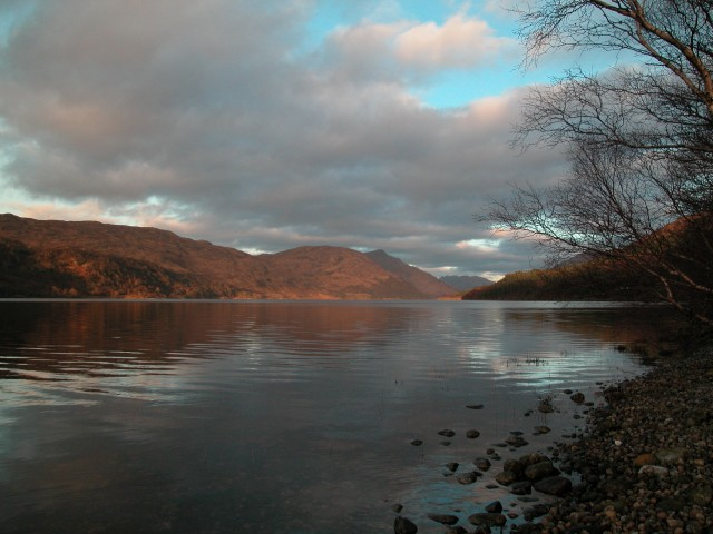 Looking north up Loch Shiel - geograph.org.uk - 302160