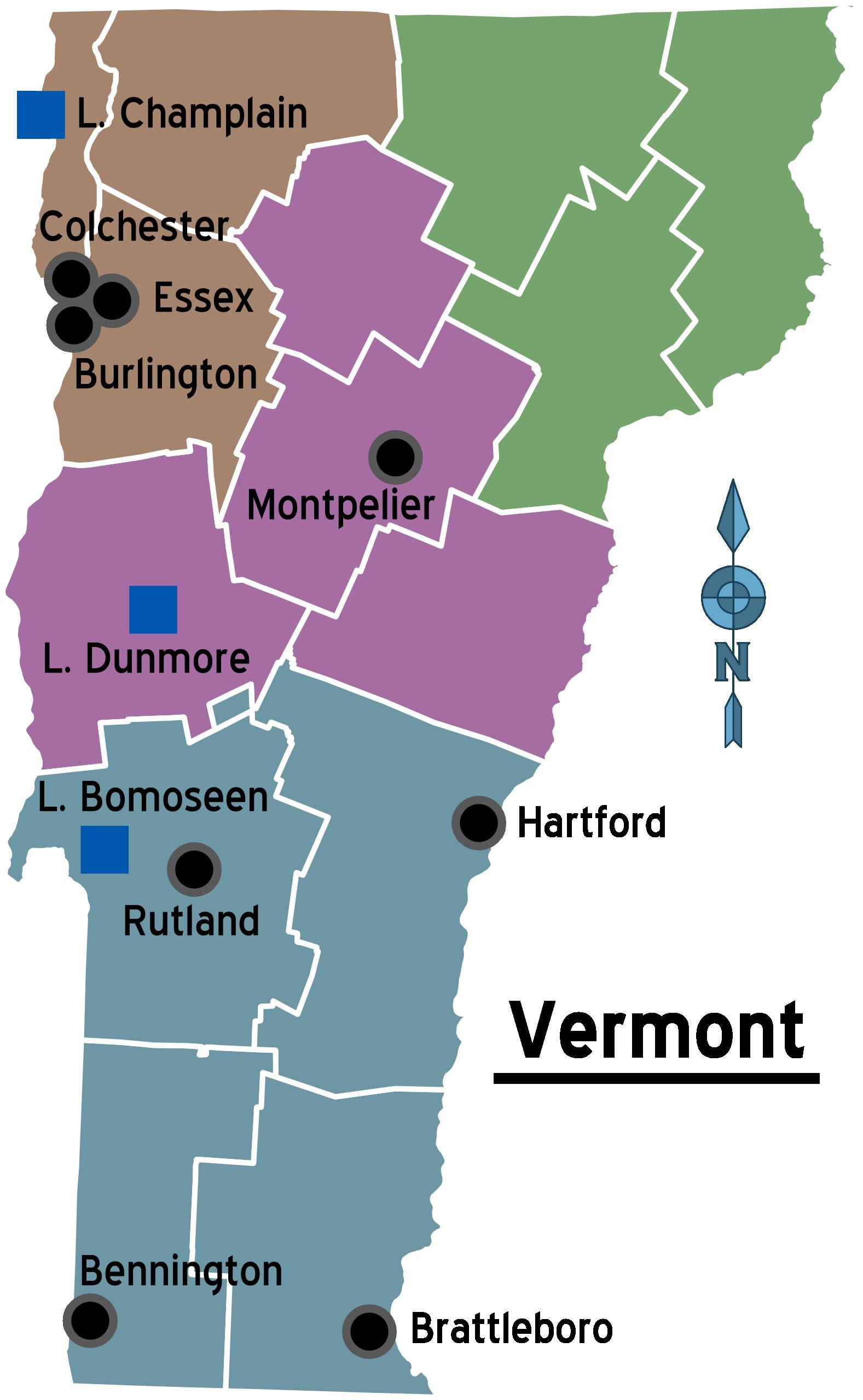 File:map Of Vermont Regionsg
